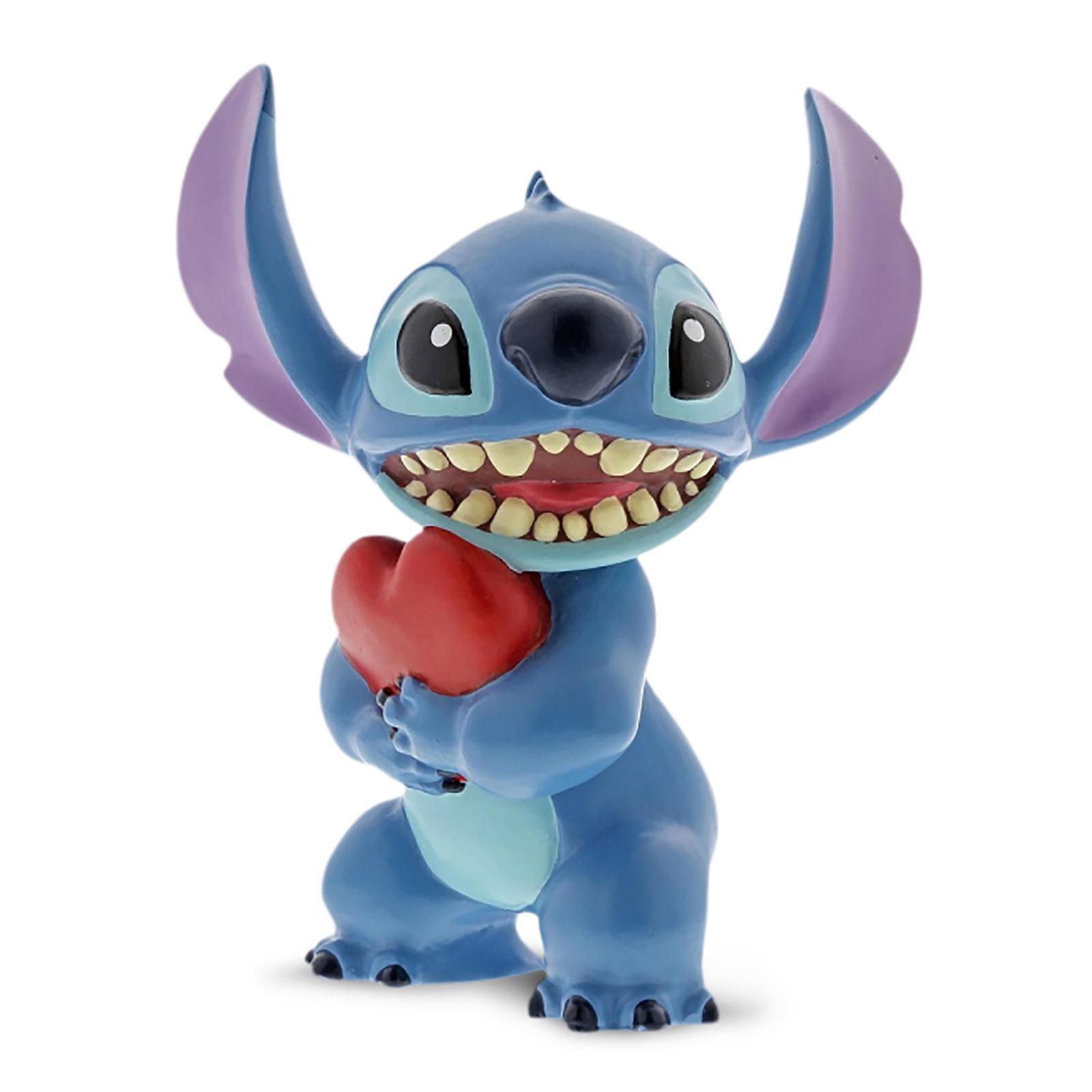 Lilo & Stitch - Stitch Figur mit Herz