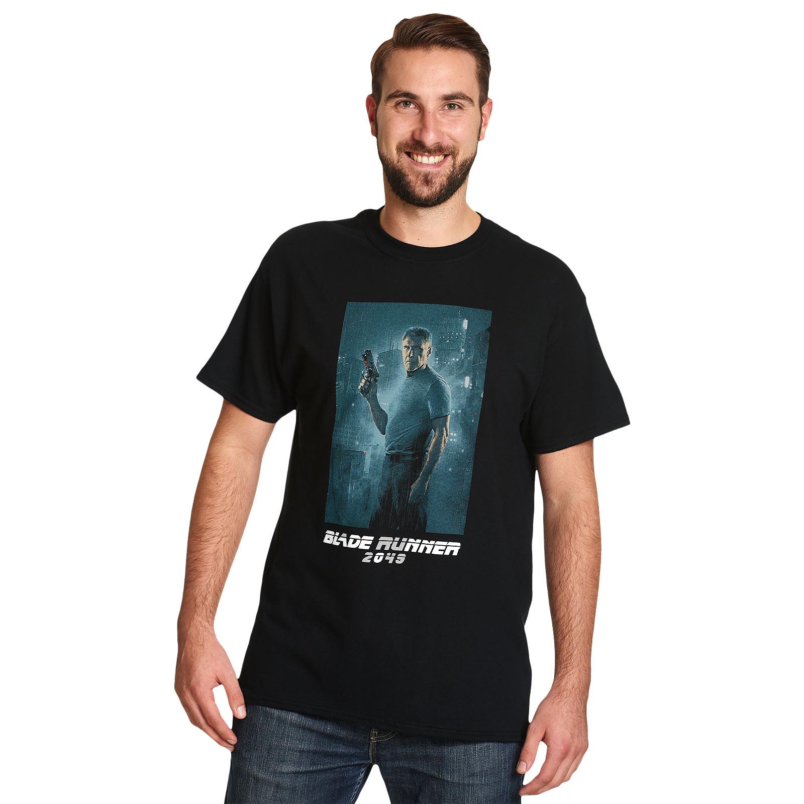 Blade Runner - Deckard Full Shot T-Shirt schwarz
