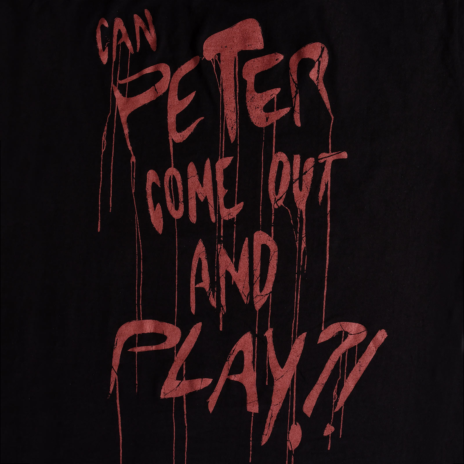 Venom - Peter Come Out And Play T-Shirt schwarz