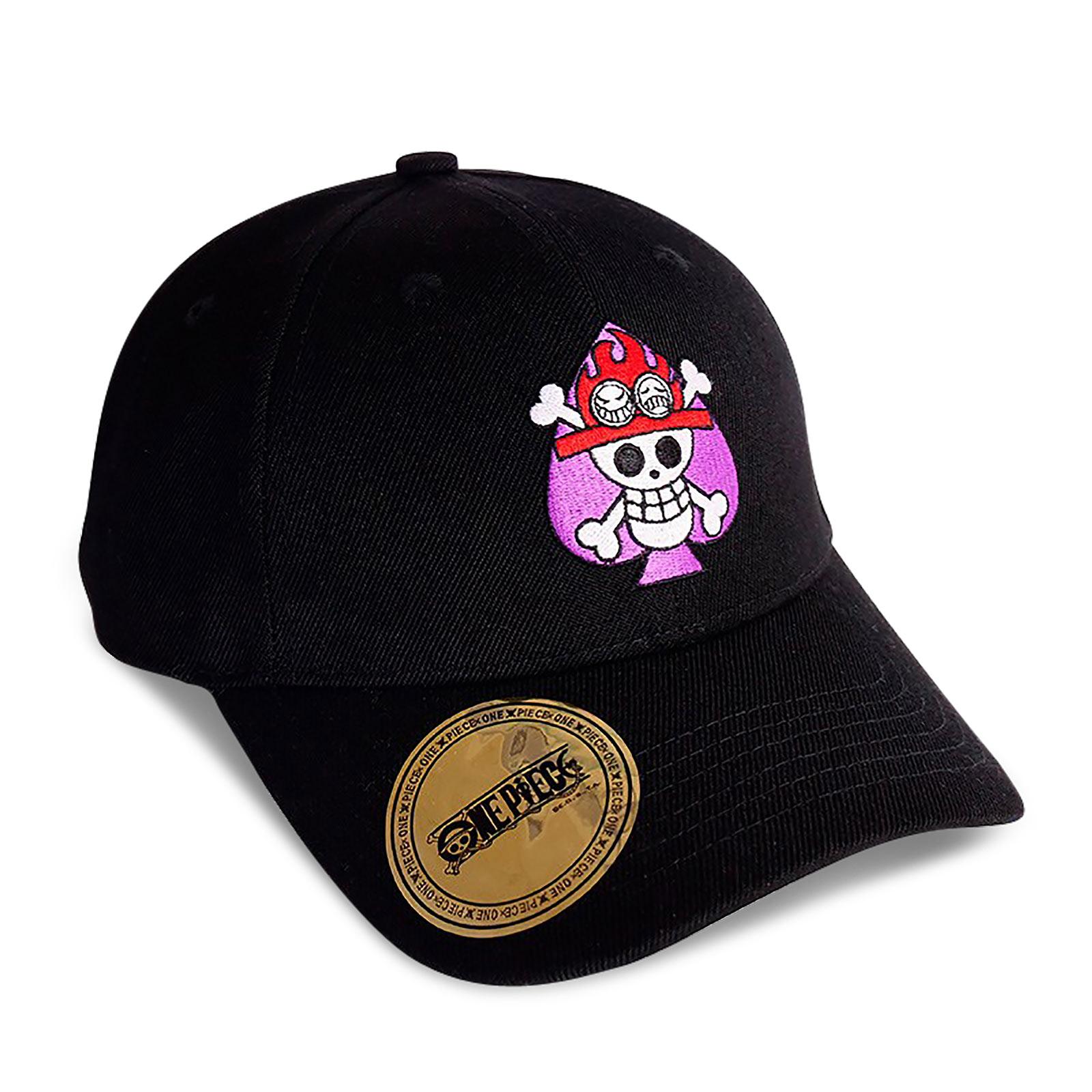 One Piece - Portgas D. Ace Skull Basecap