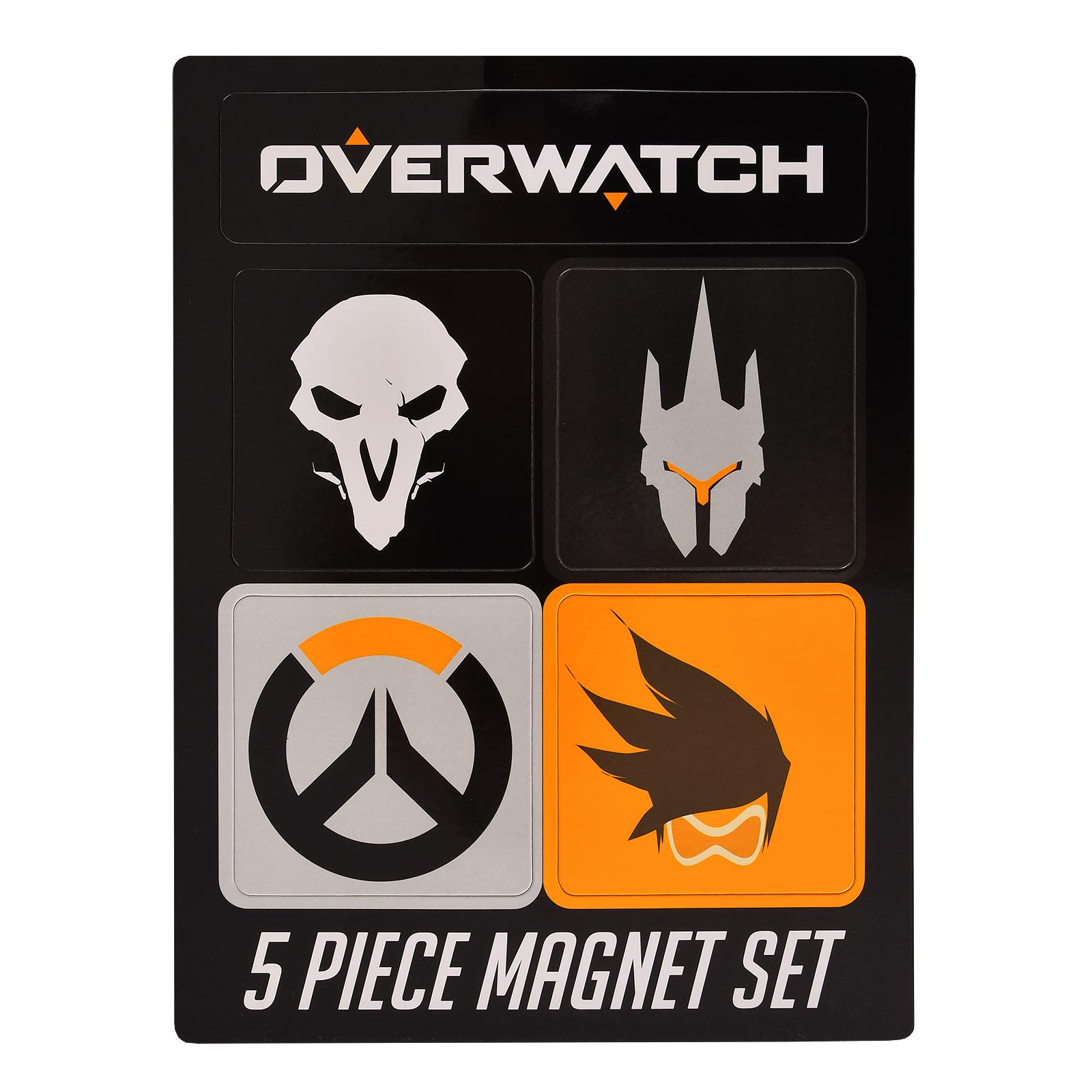 Overwatch Magnet-Set