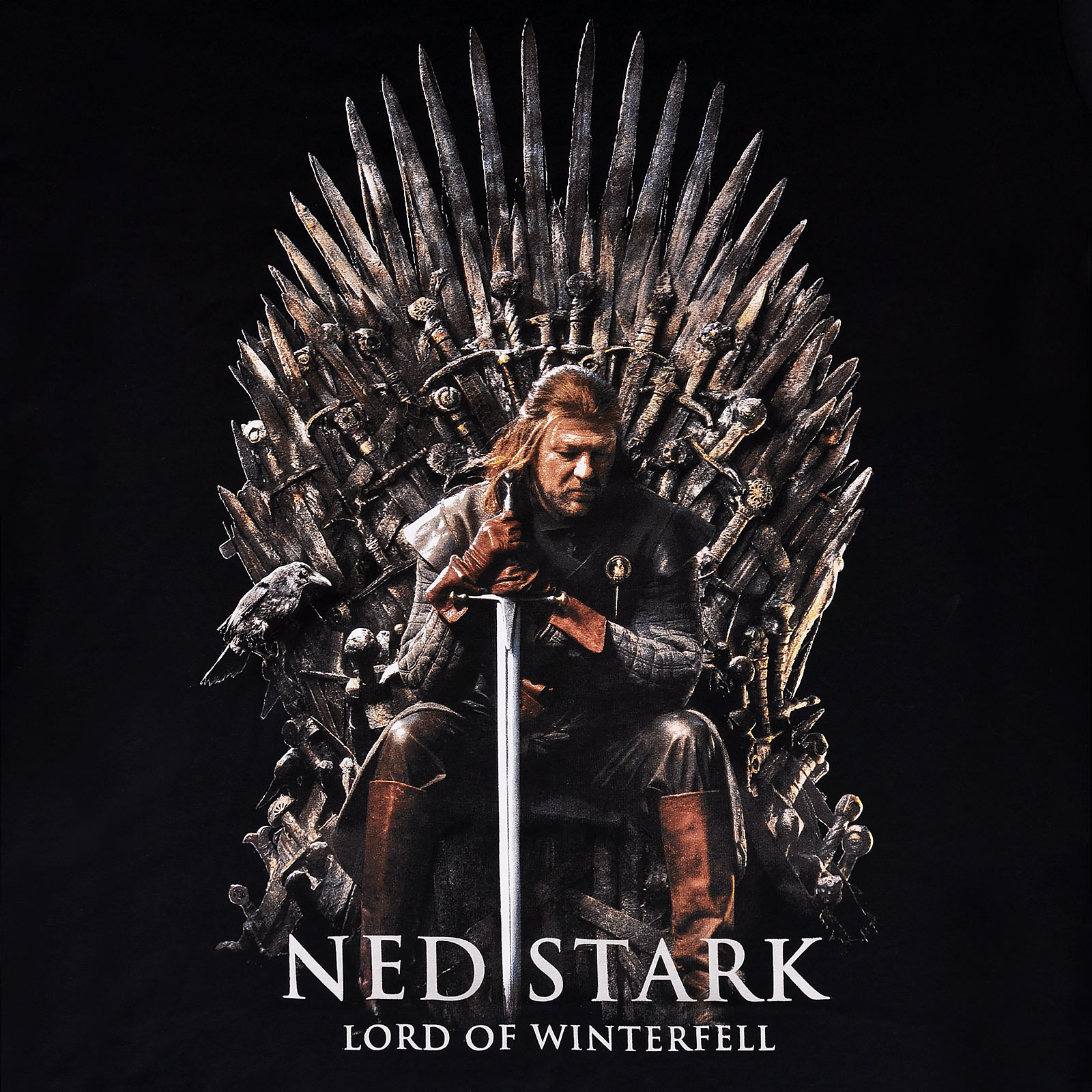 Ned Stark Lord of Winterfell T-Shirt - Game of Thrones