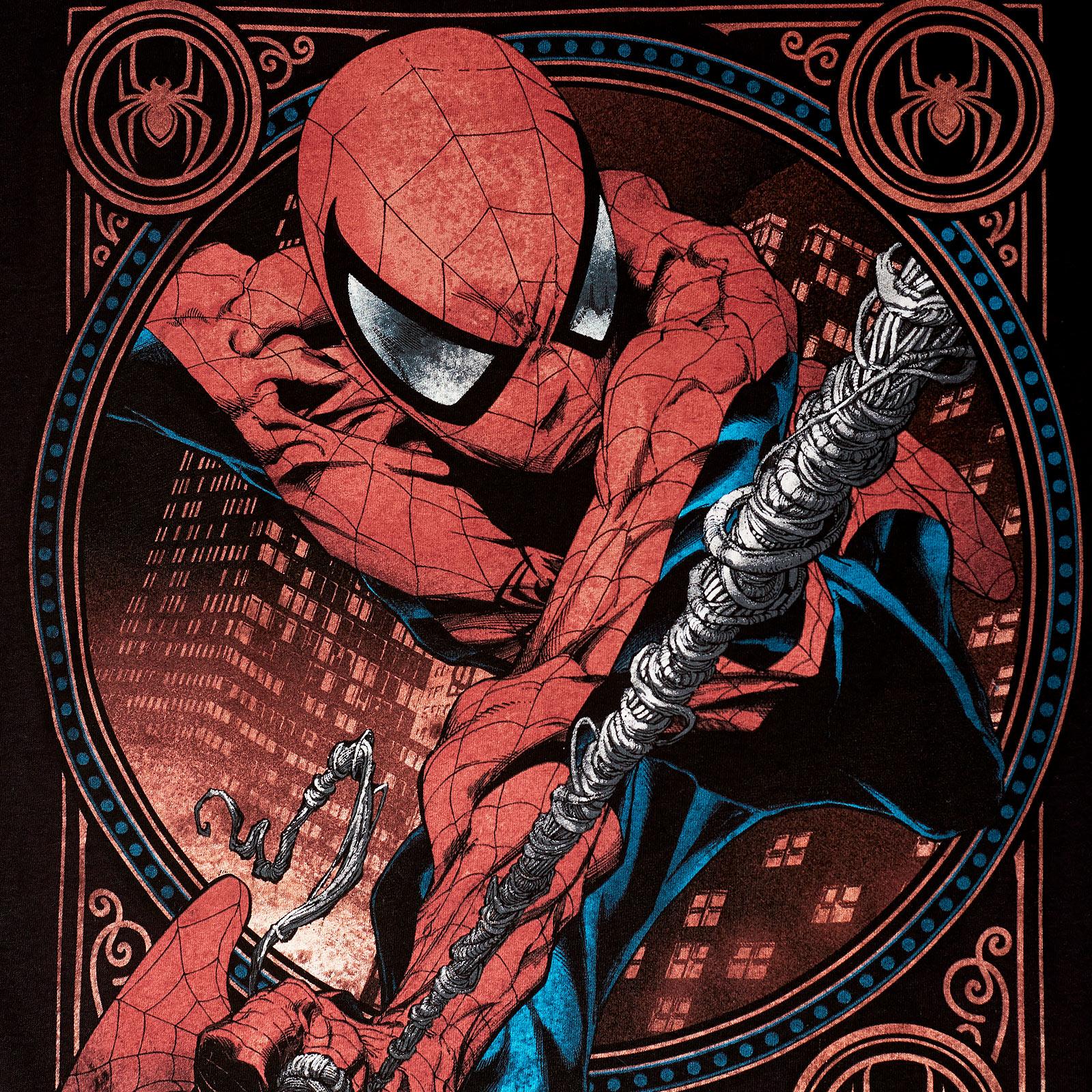Spider-Man - Greatest Super Hero T-Shirt schwarz