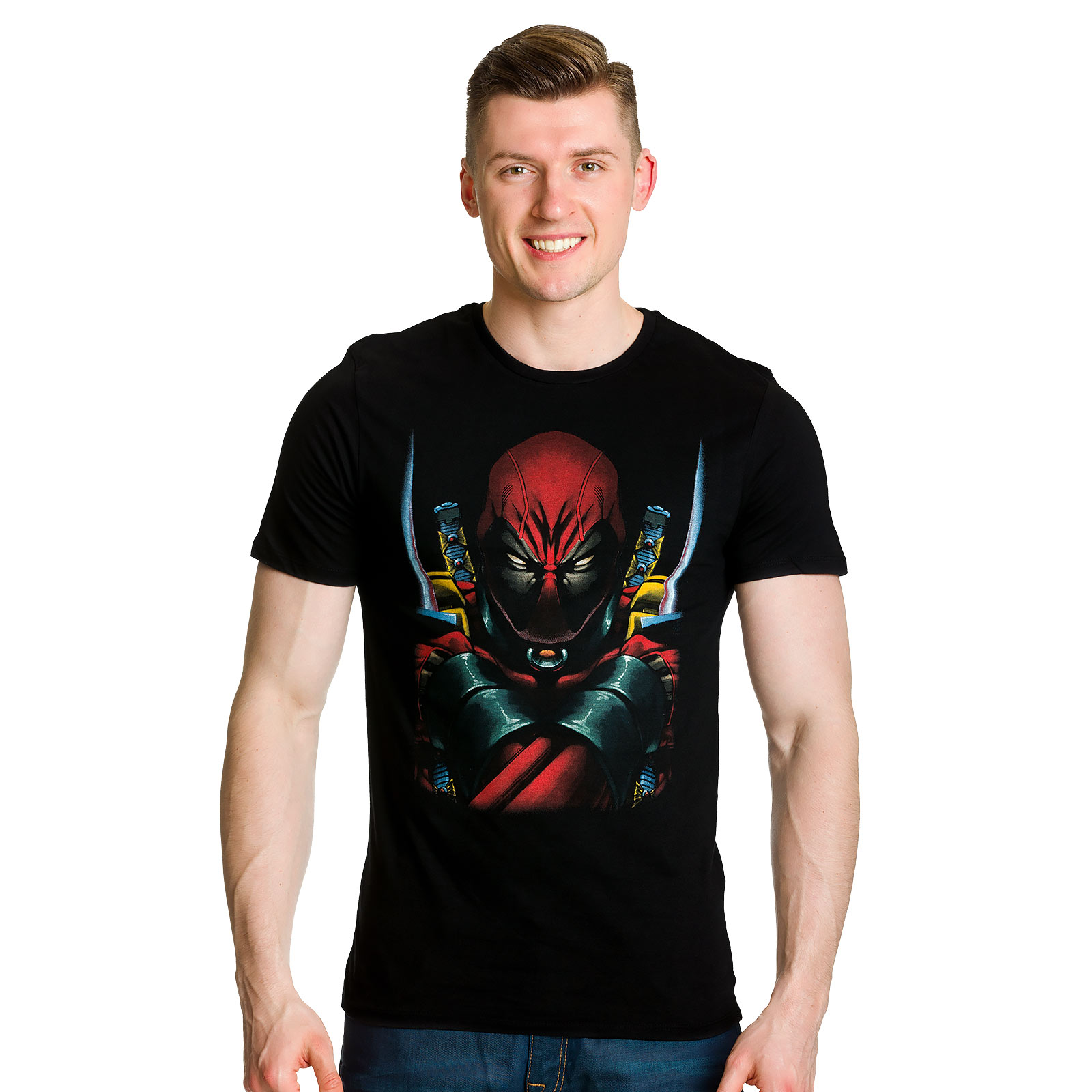 Deadpool - Marvel T-Shirt schwarz