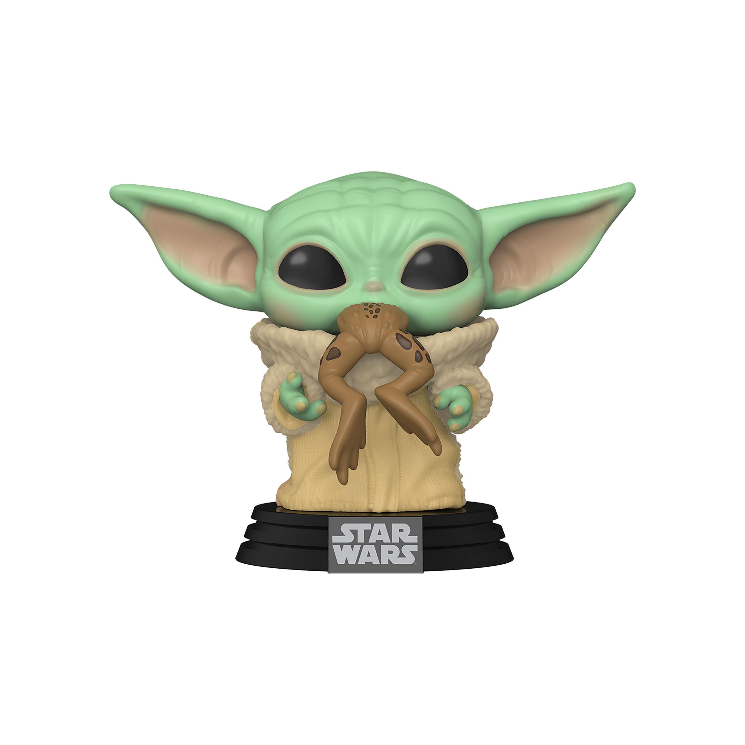 The Child mit Frosch Funko Pop Wackelkopf-Figur - Star Wars The Mandalorian
