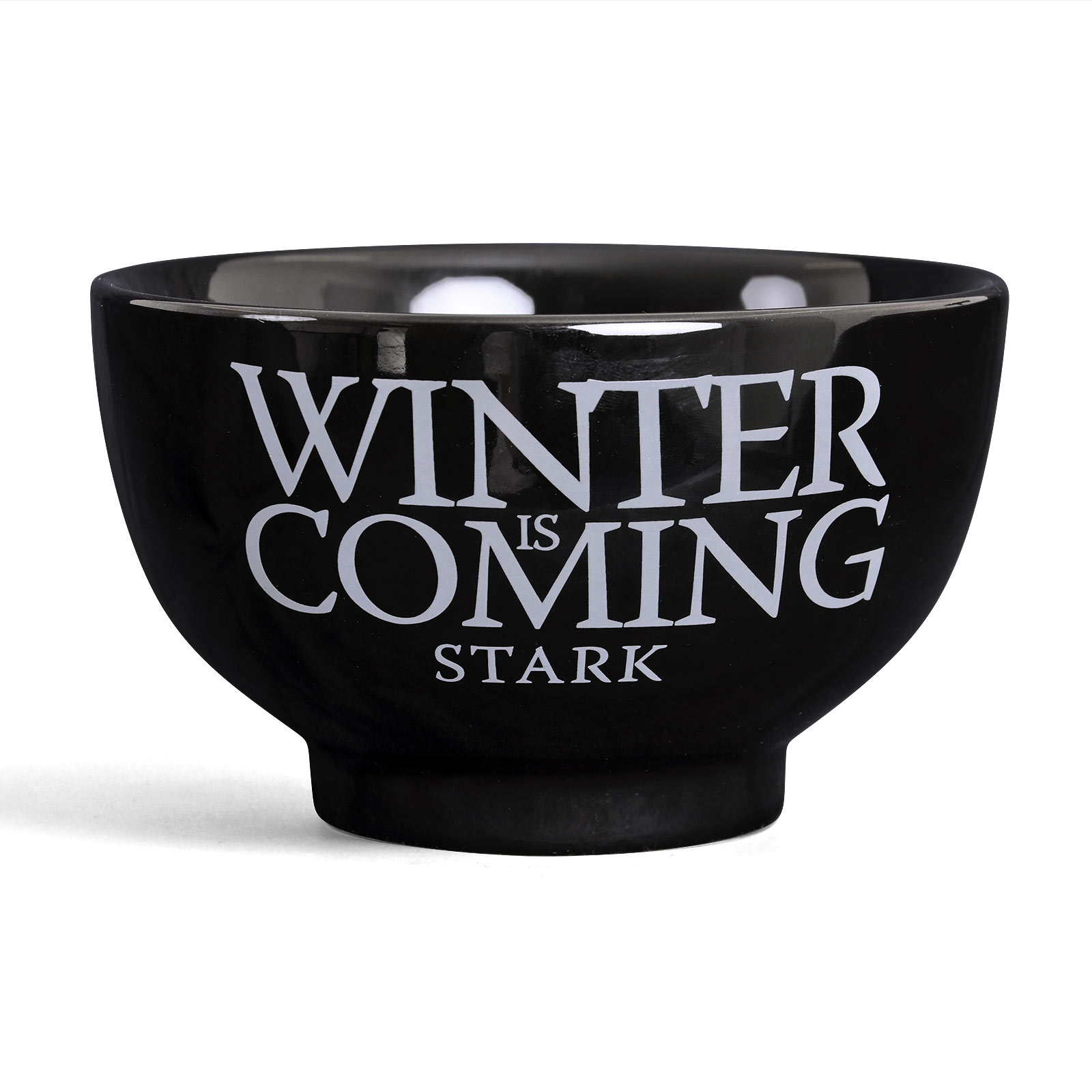 Game of Thrones - House Stark Müslischale schwarz
