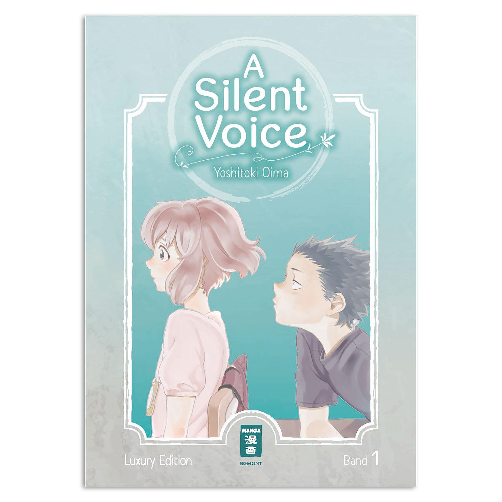 A Silent Voice - Band 1 Gebundene Luxusausgabe
