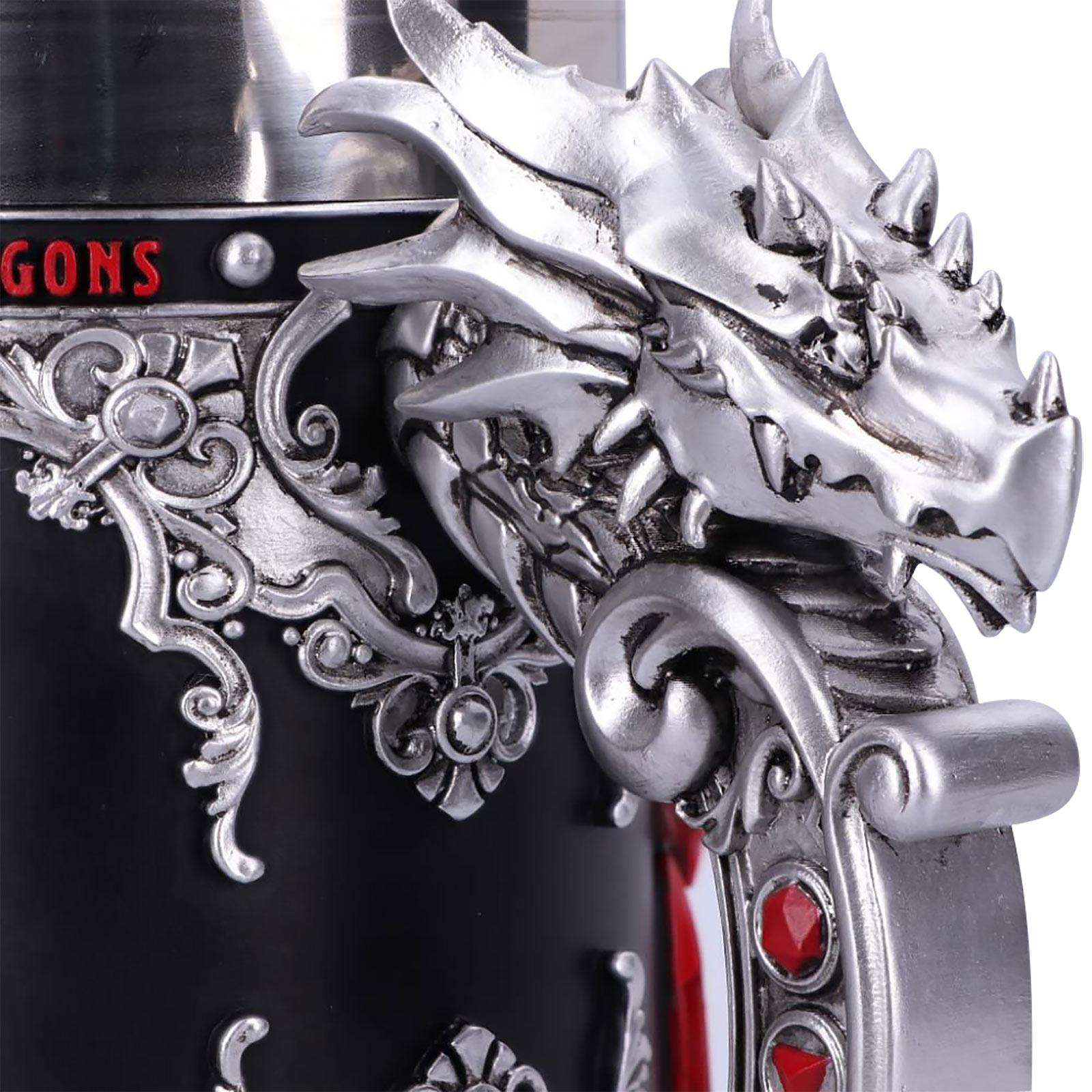 Dungeons & Dragons - Logo Krug deluxe