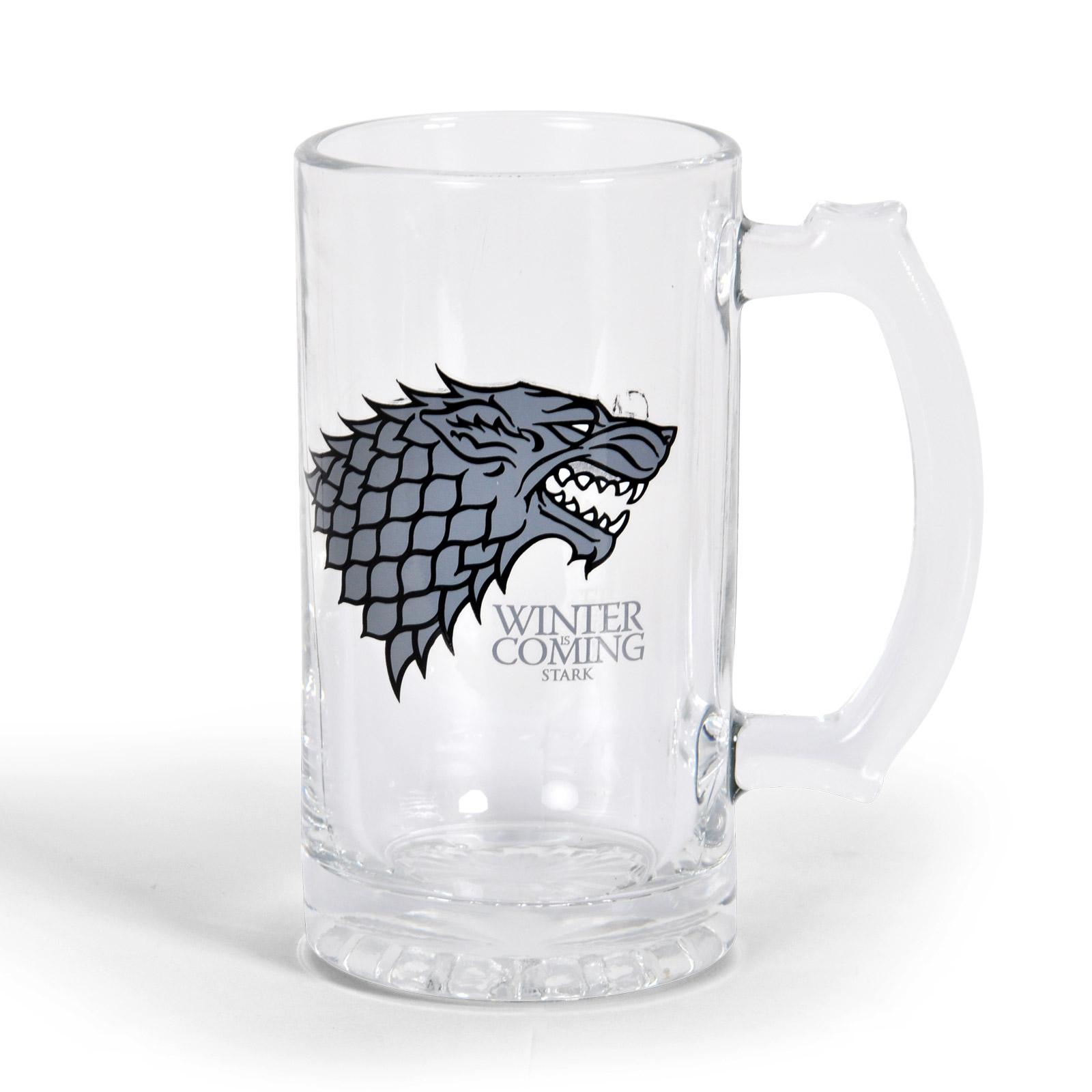 Game of Thrones - House Stark Glaskrug