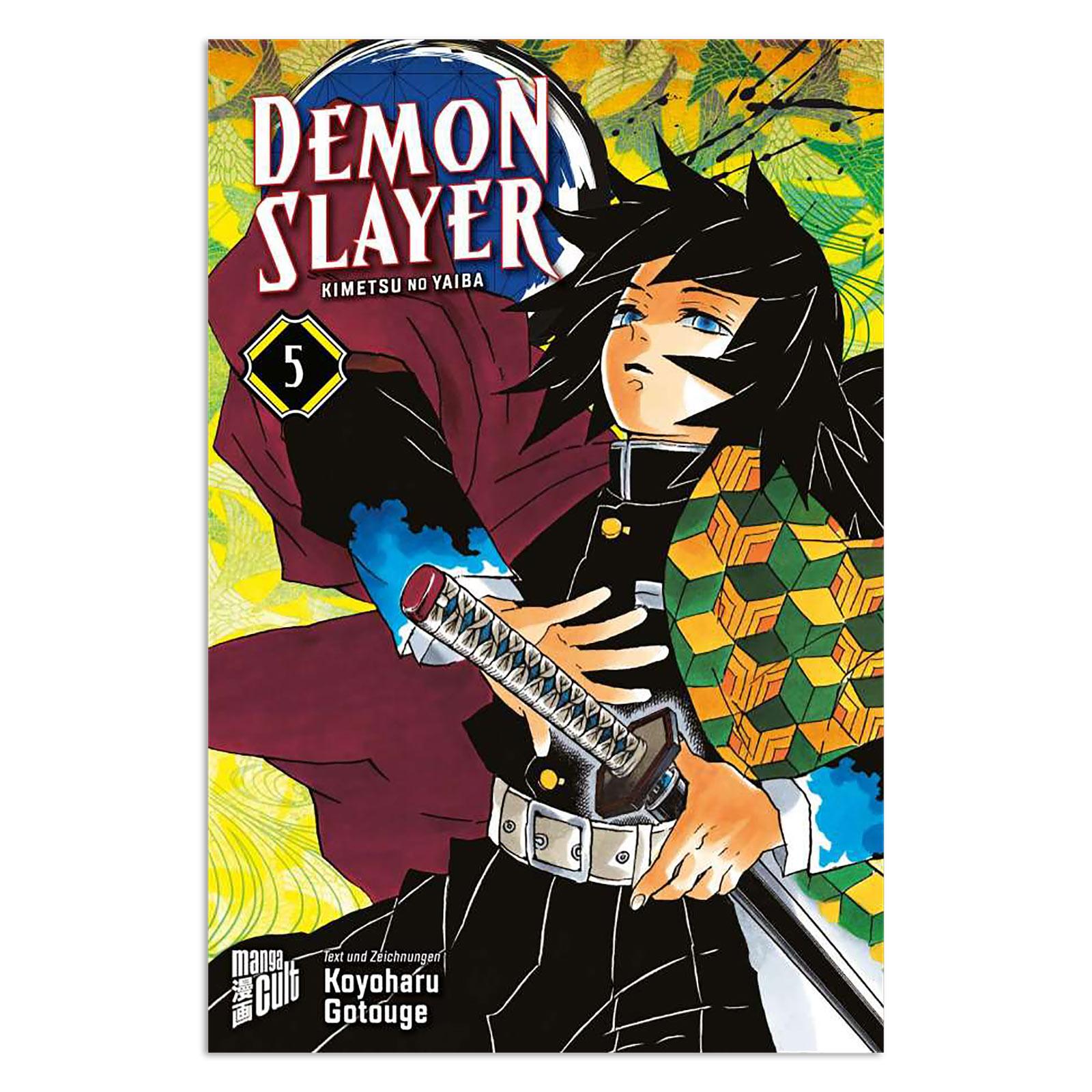 Demon Slayer - Kimetsu no yaiba Band 5 Taschenbuch