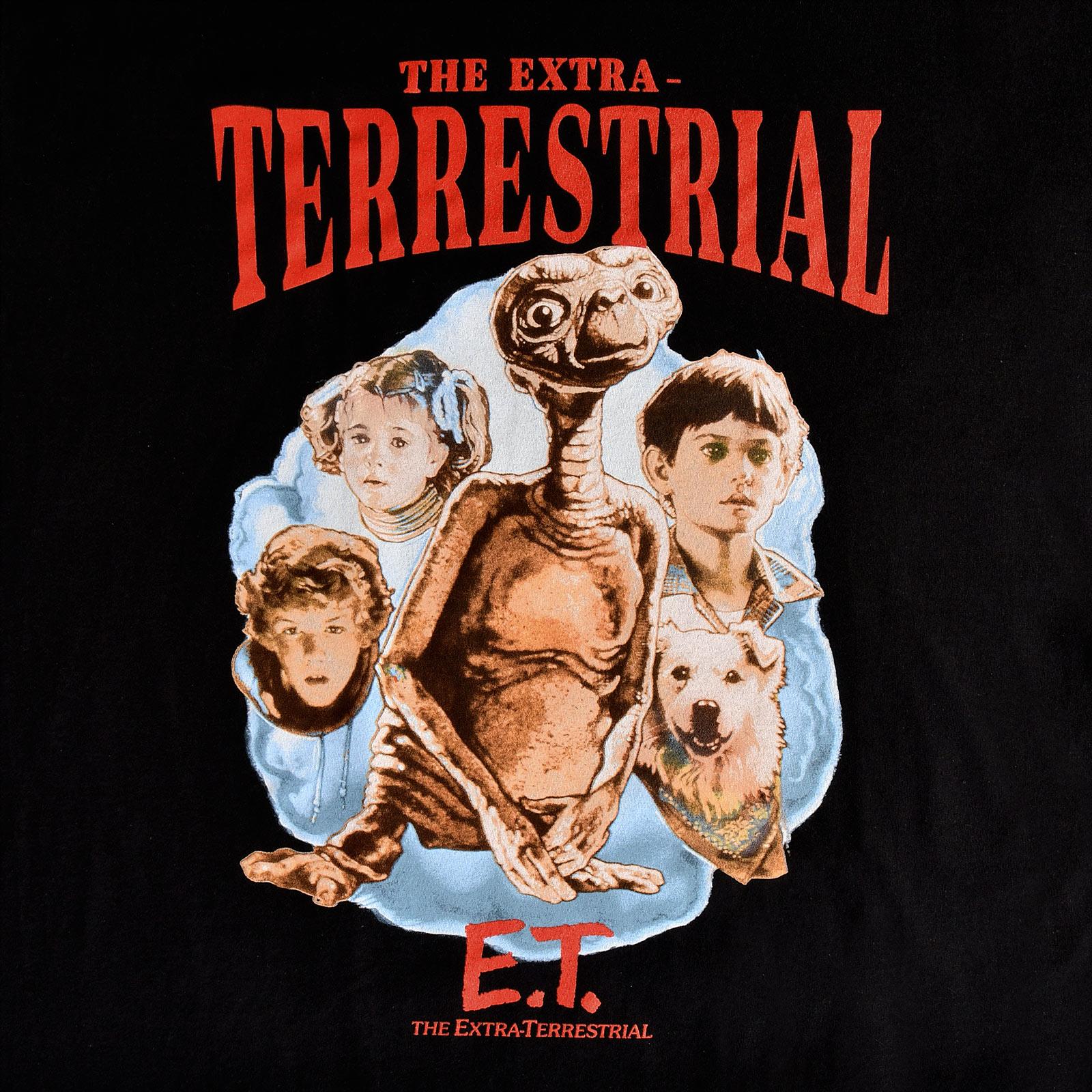 E.T. The Extra-Terrestrial T-Shirt schwarz