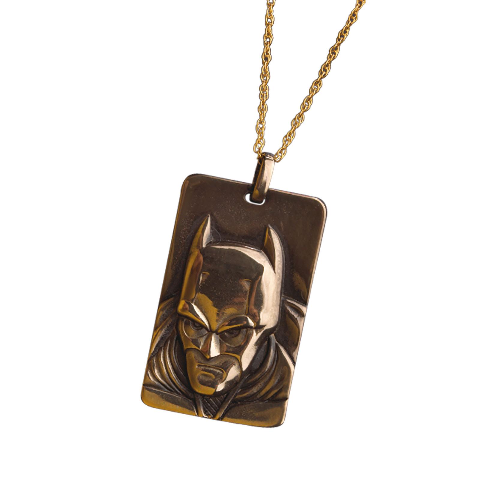Batman The Dark Knight - Bronzereliefkette
