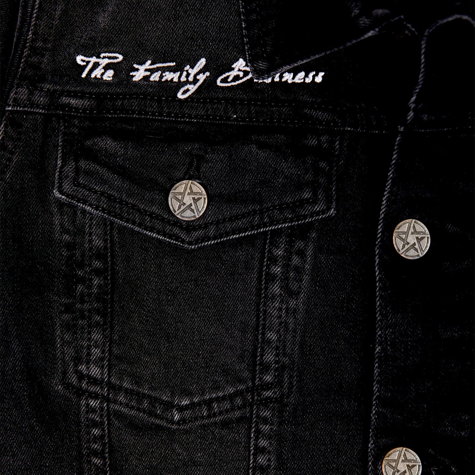 Supernatural - Teufelsfalle Jeansjacke Damen schwarz