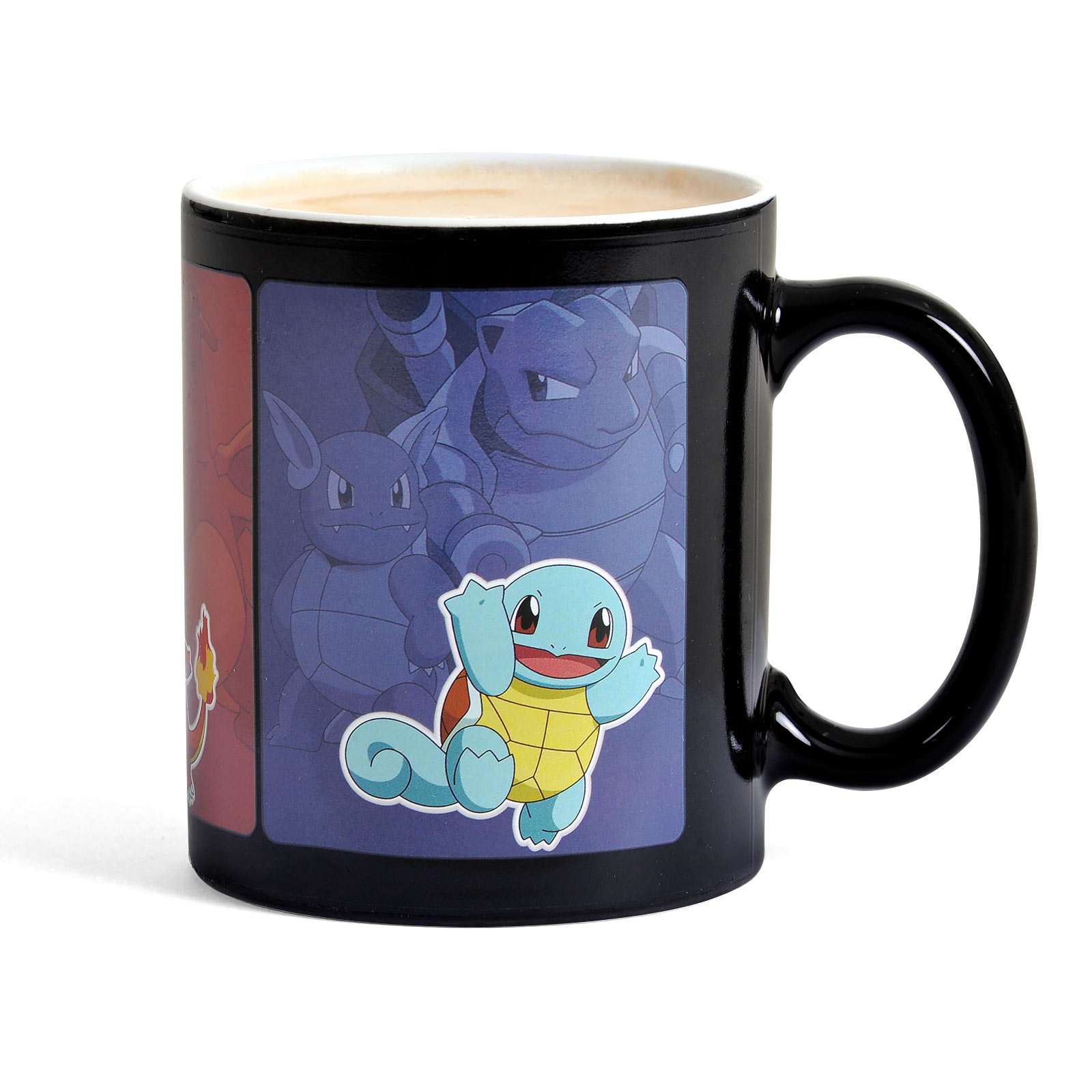 Pokemon - Starter Pokemon Thermoeffekt Tasse