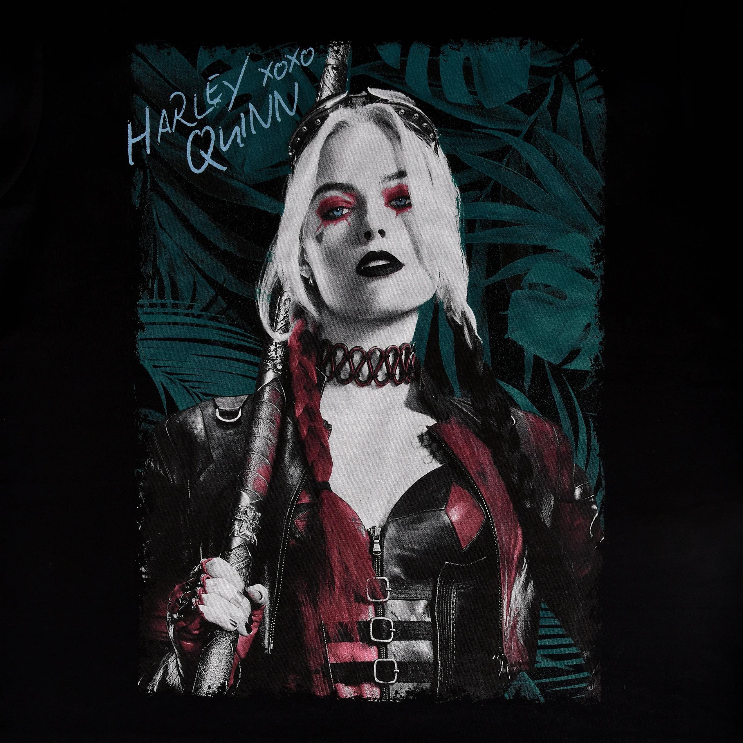 Harley Quinn T-Shirt schwarz - The Suicide Squad
