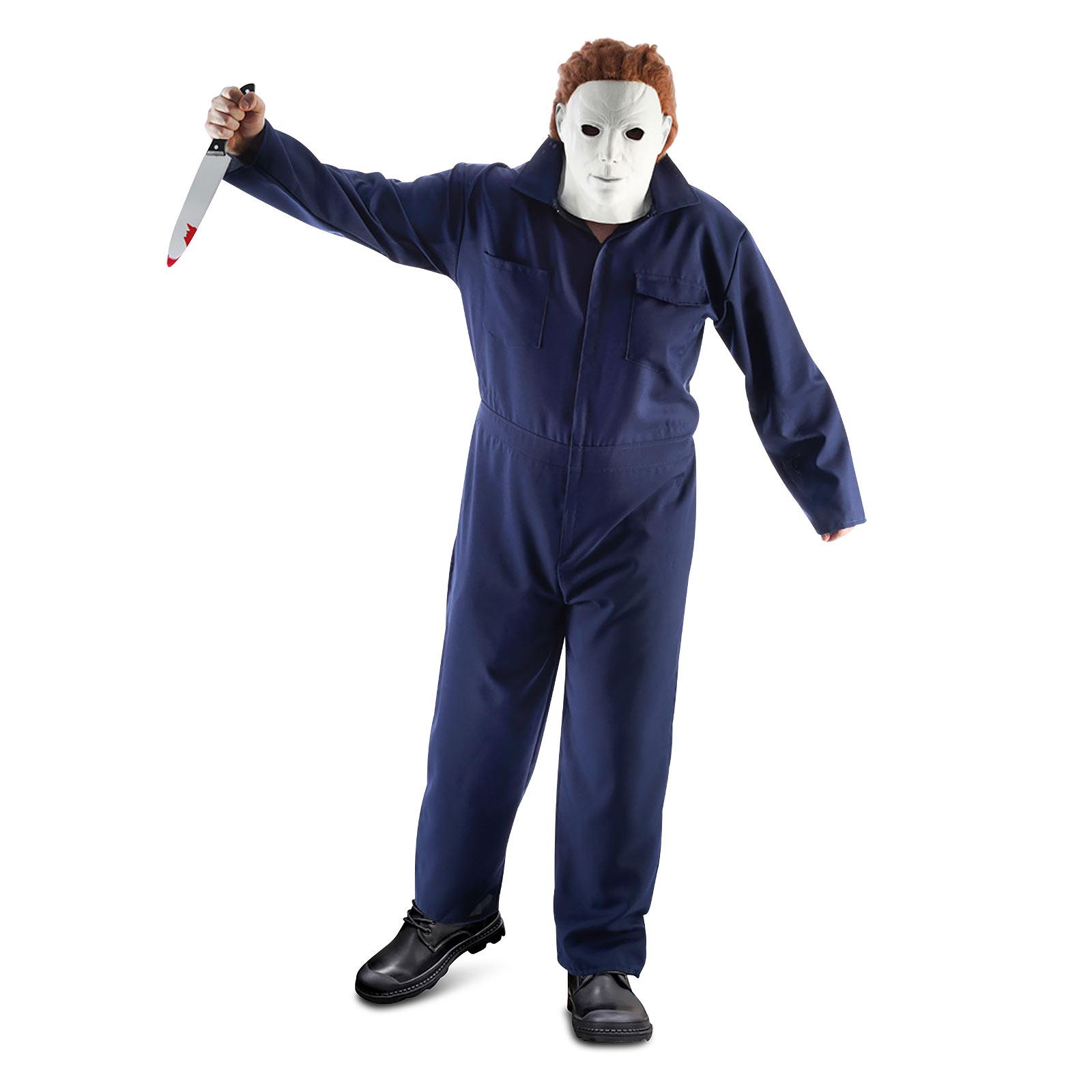 Michael Kostüm Overall für Halloween Fans