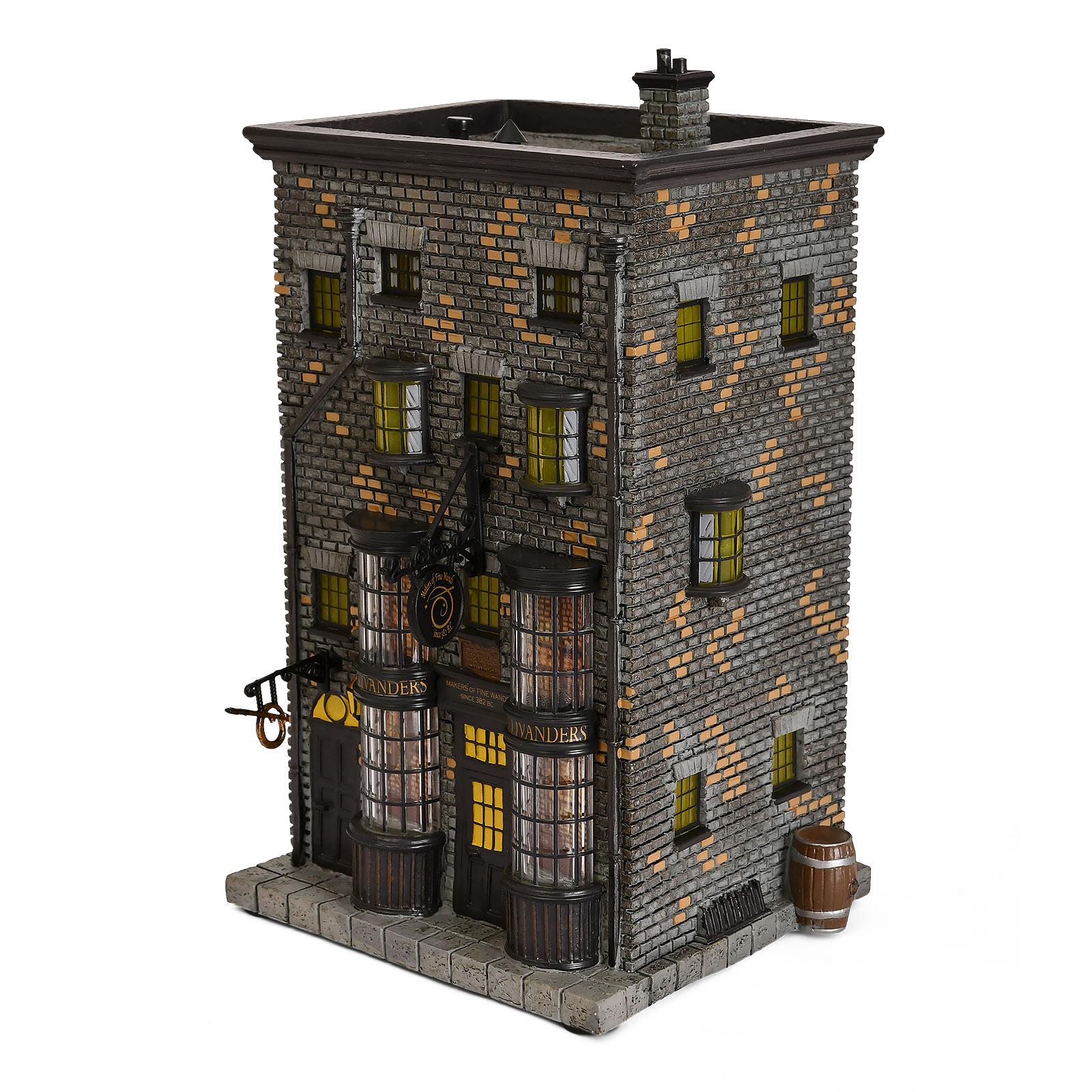 Ollivanders Zauberstabladen Miniatur Replik mit Beleuchtung - Harry Potter