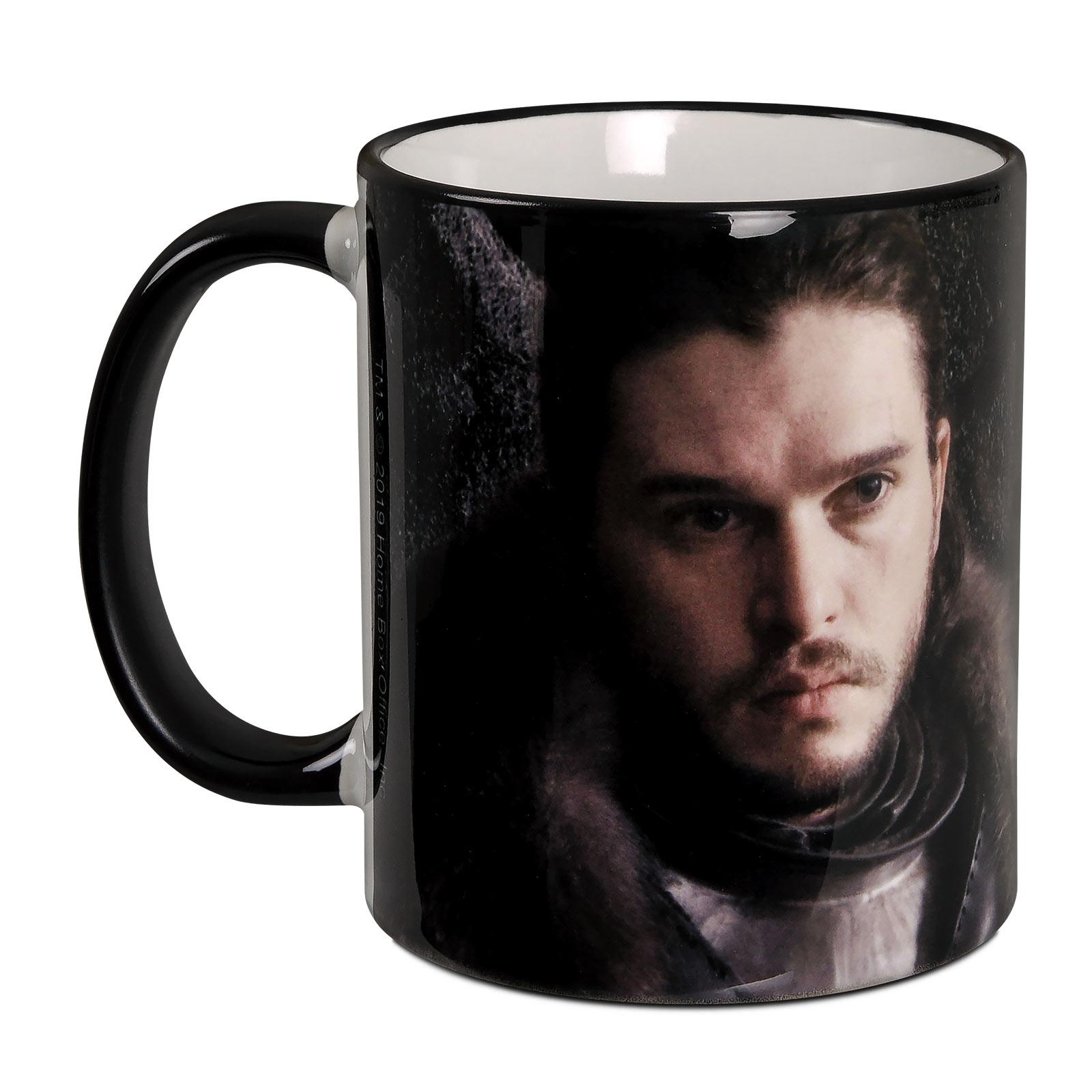 Jon Snow For The Throne Tasse - Game of Thrones