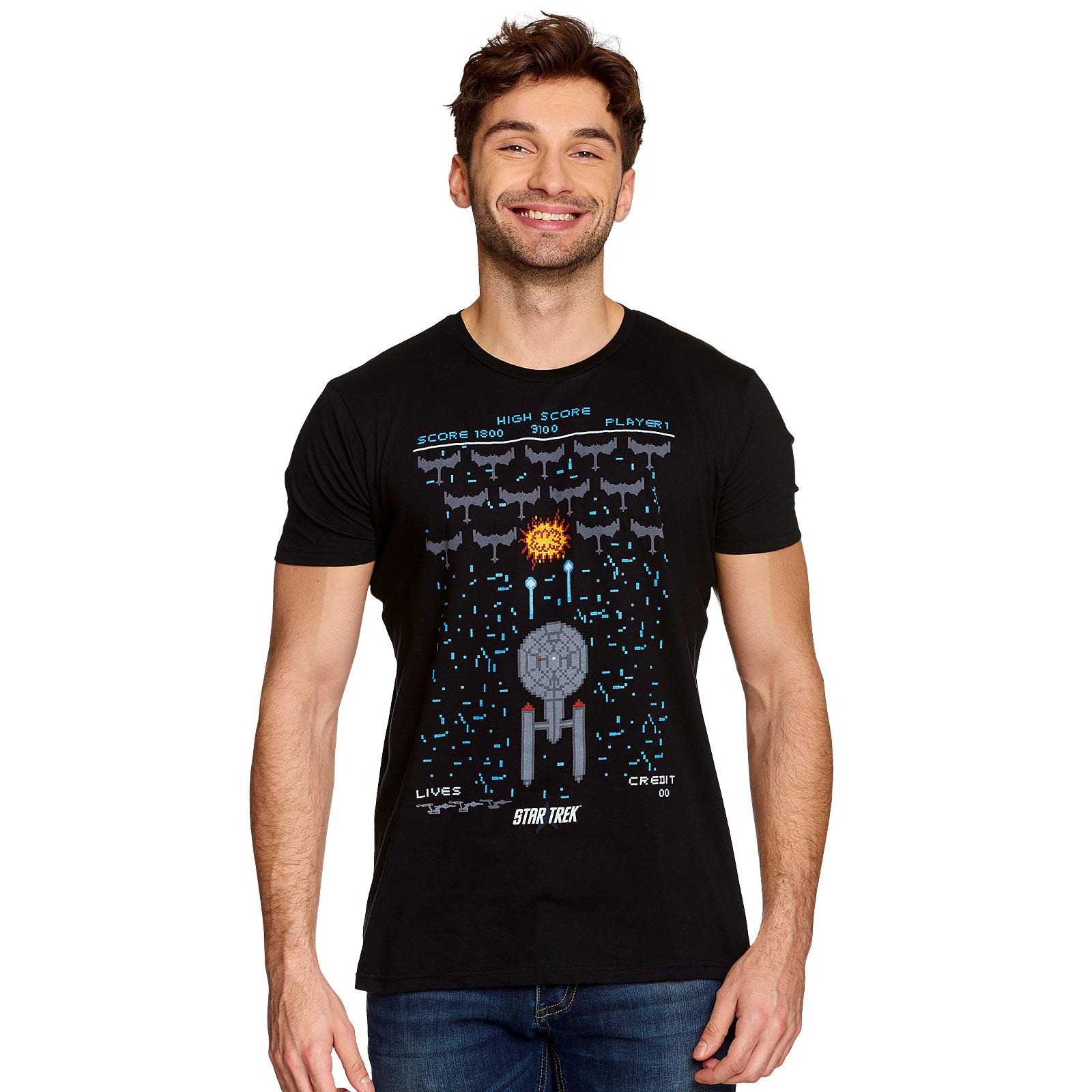 Star Trek - Game T-Shirt schwarz