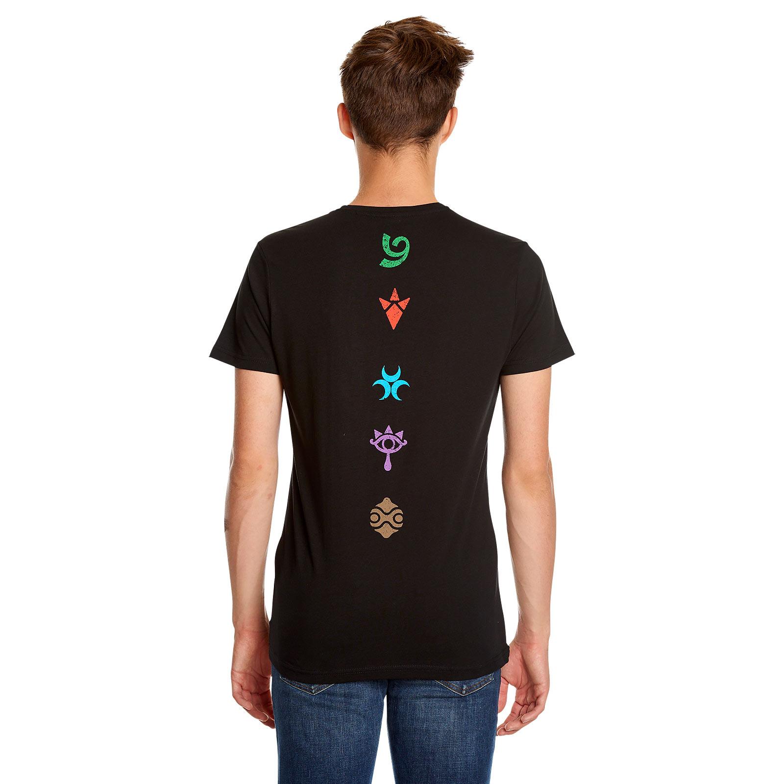 Zelda - Völker von Hyrule T-Shirt schwarz