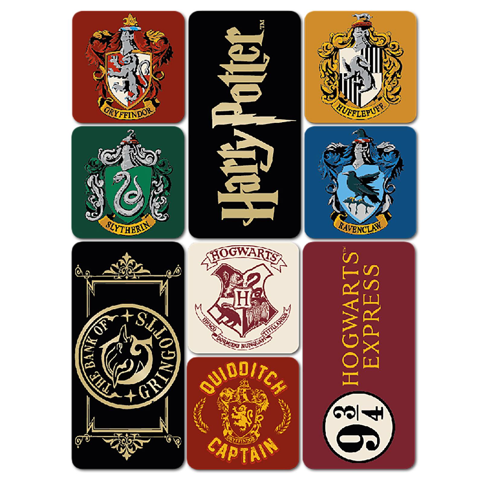 Harry Potter - Magnet-Set