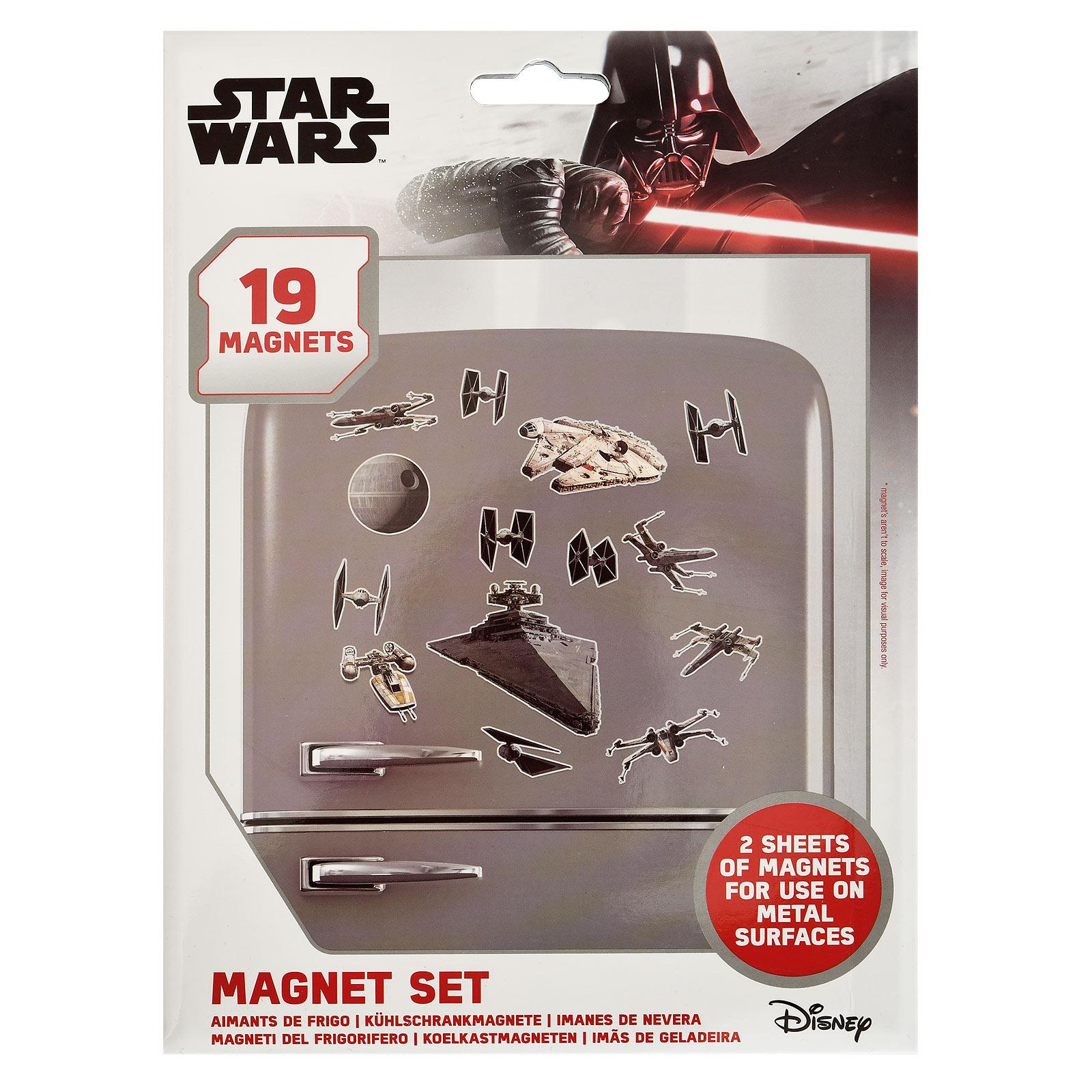 Star Wars - Space Battle Magnet-Set