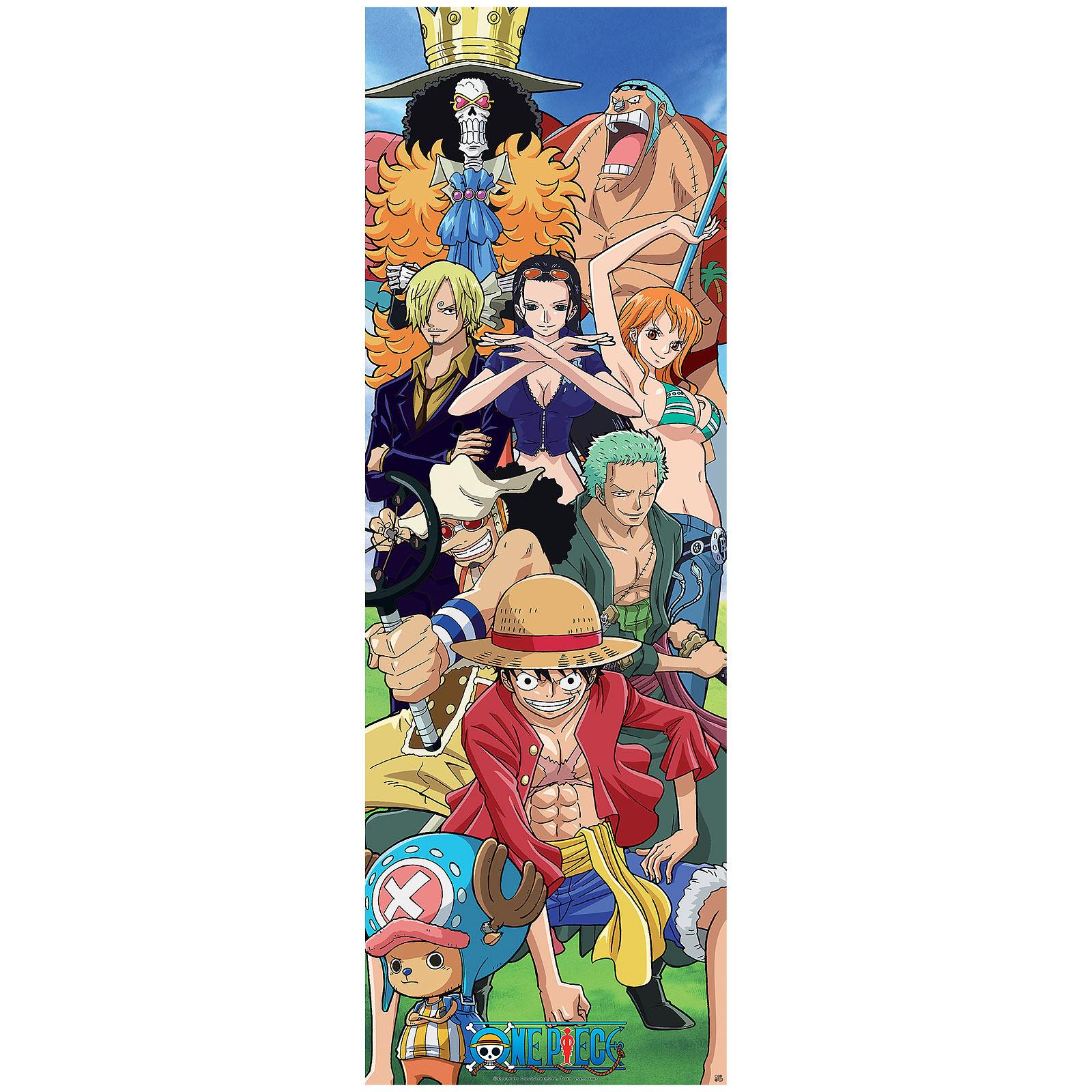 One Piece - Strohhutbande Türposter