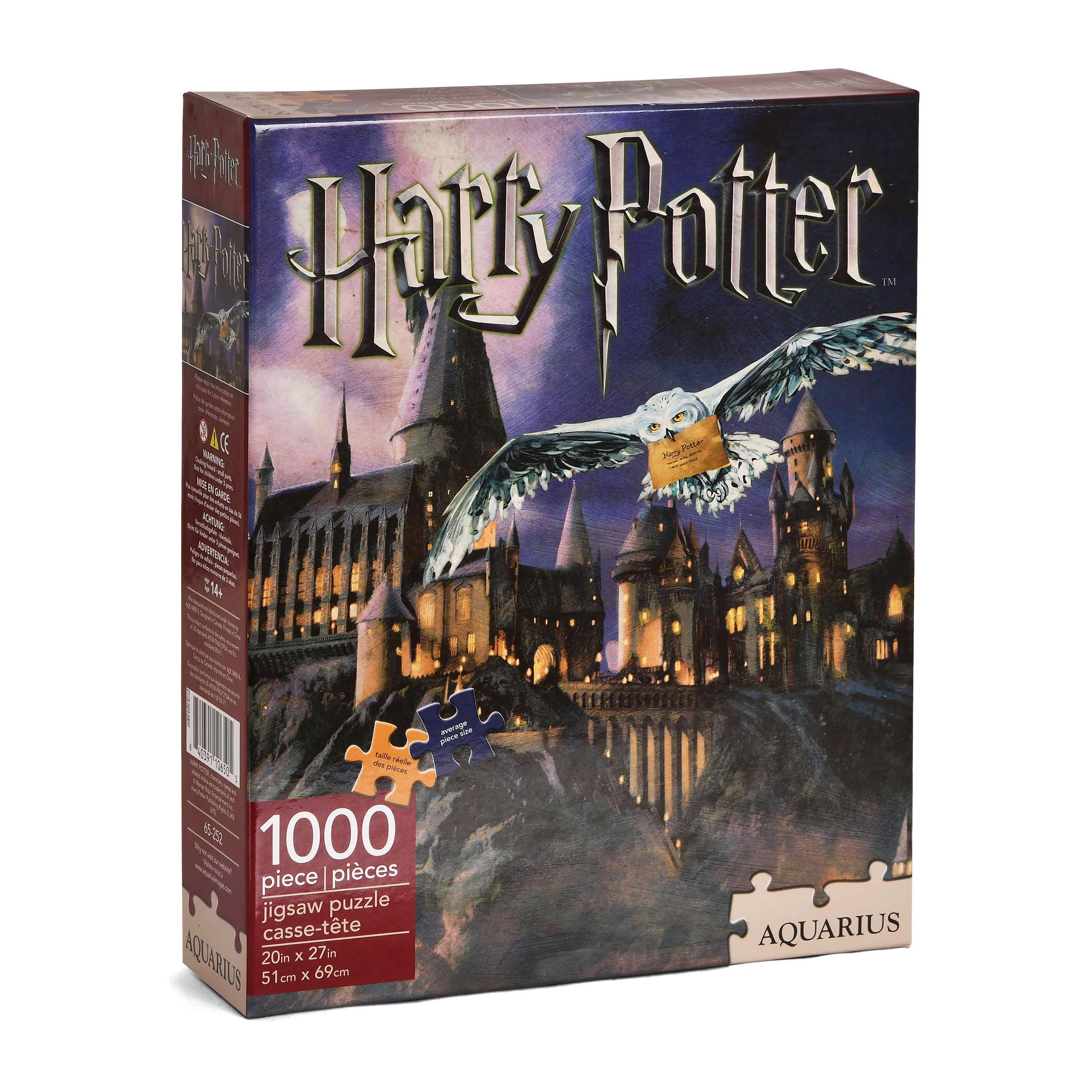 Harry Potter - Hogwarts Schloss Puzzle 1000 Teile