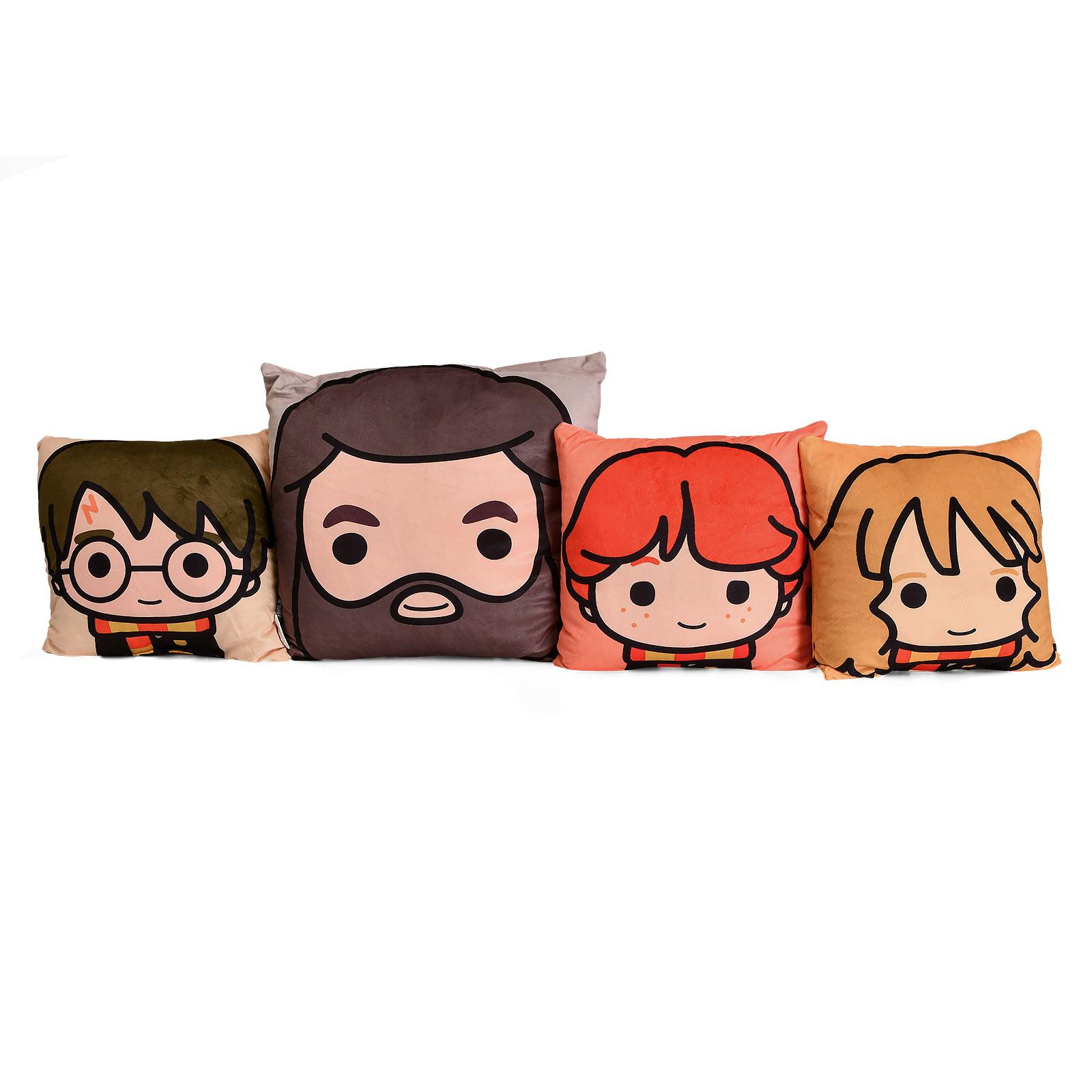 Harry Potter - Harry & Friends Chibi Kissen-Set