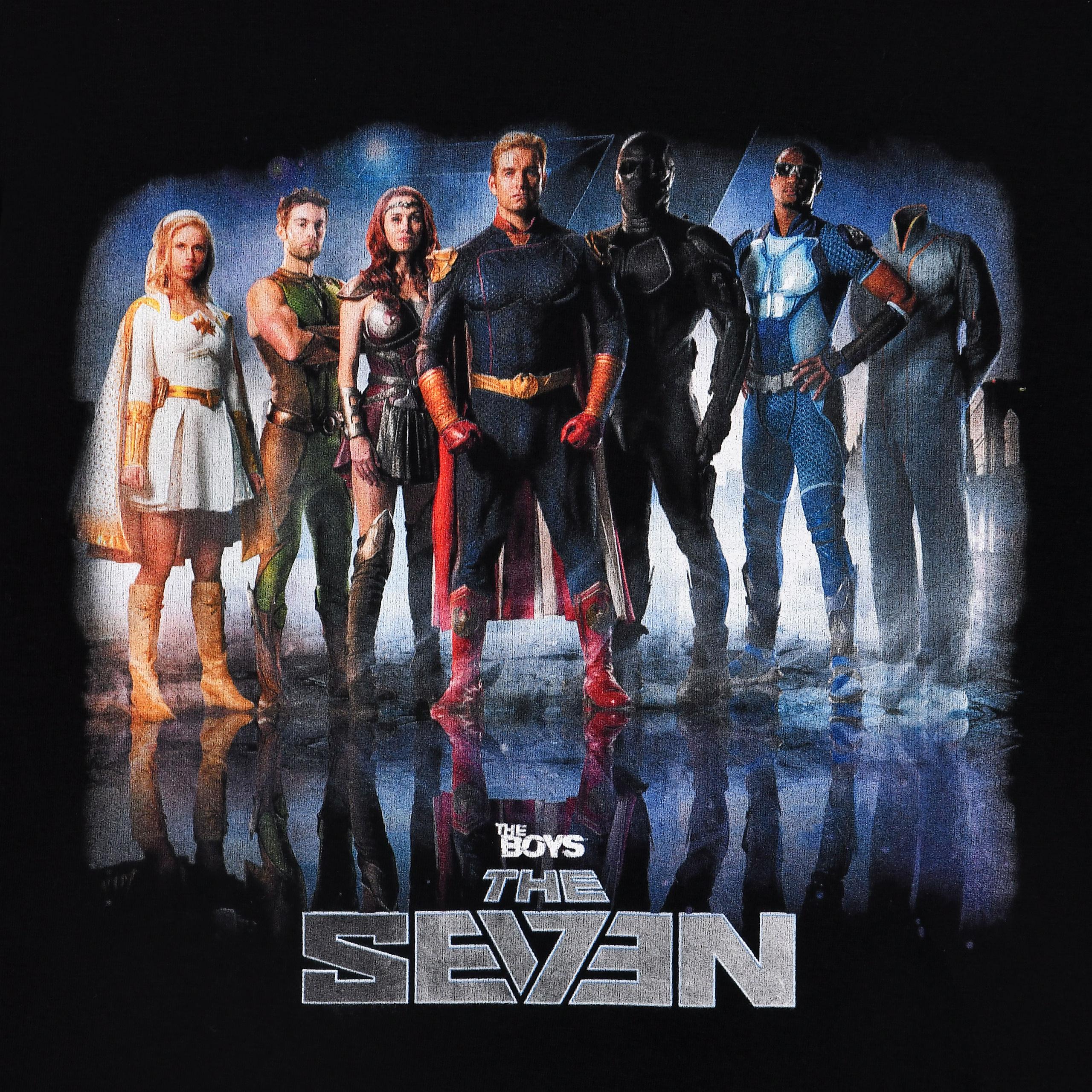 The Boys - The Seven T-Shirt schwarz