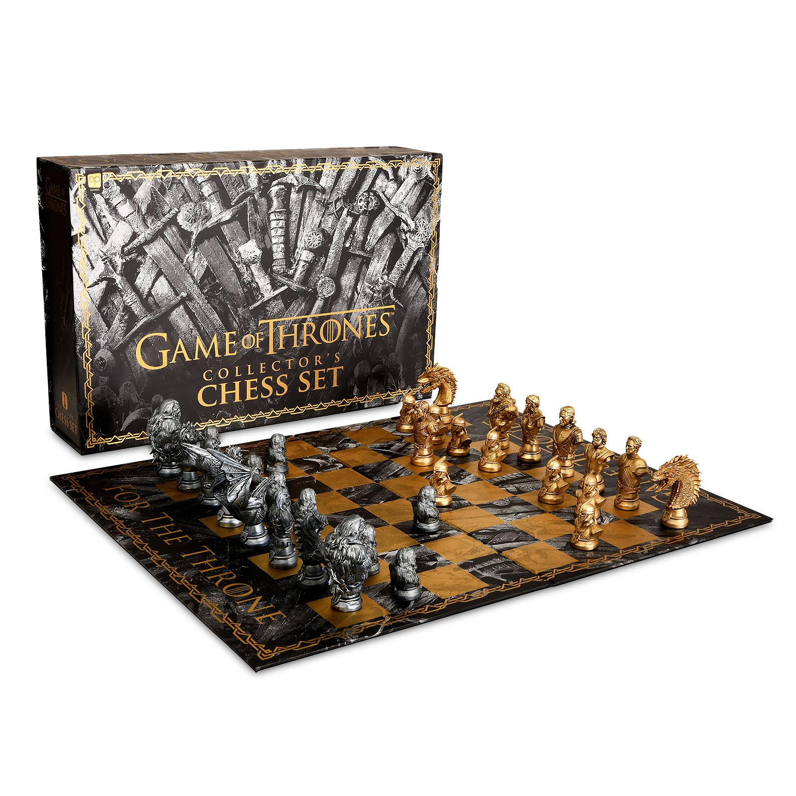 Game of Thrones - Schachspiel Collectors Edition