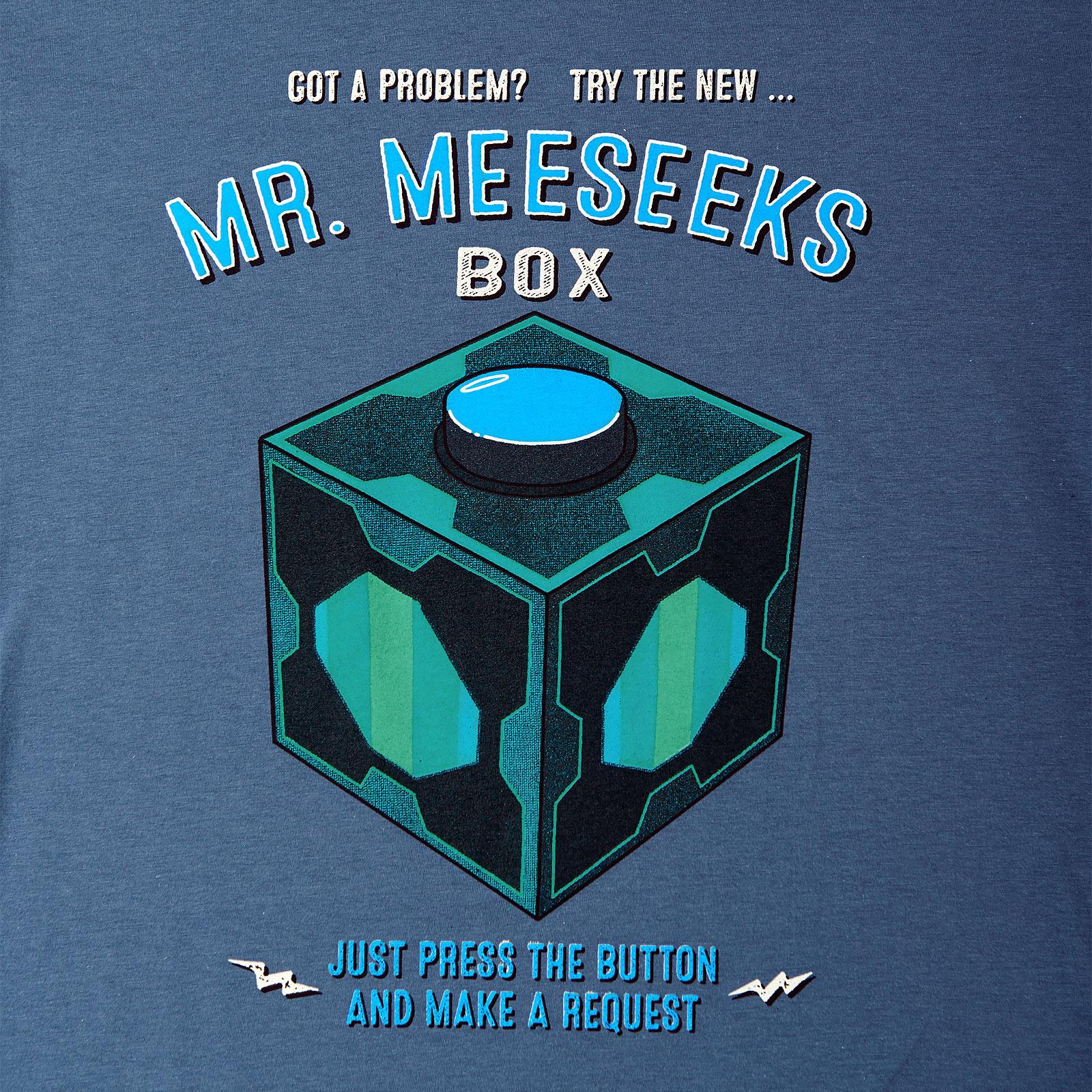 Rick and Morty - Mr. Meeseeks Box T-Shirt blau