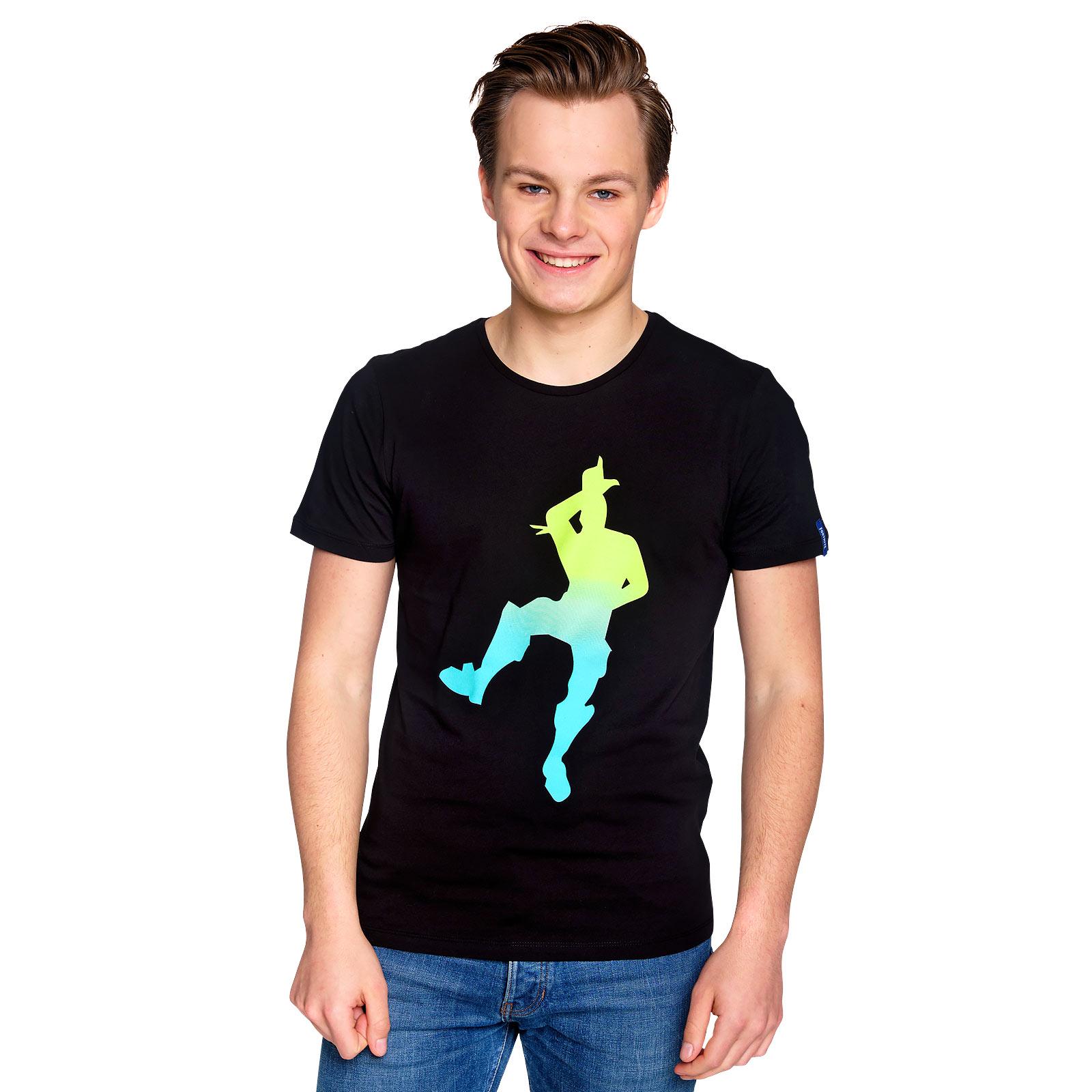 Fortnite - Take the L Dance T-Shirt schwarz