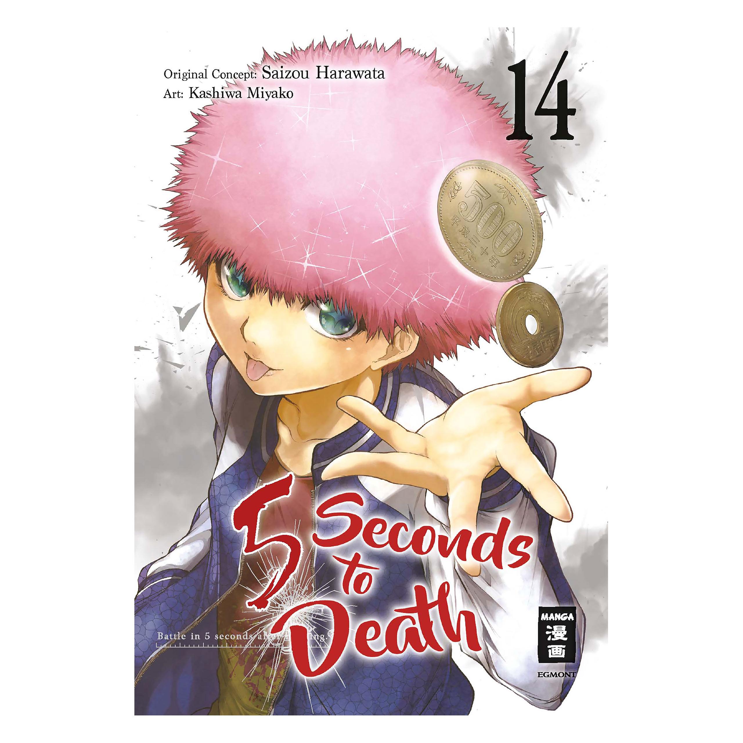 5 Seconds to Death - Band 14 Taschenbuch