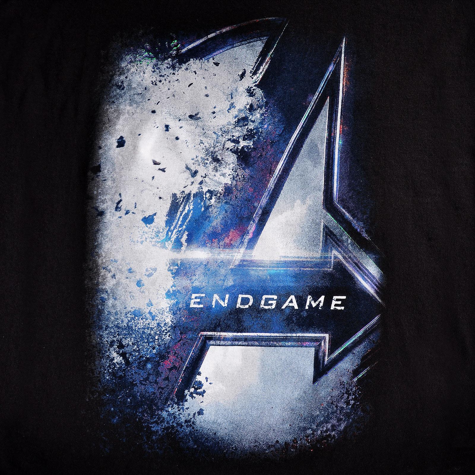 Avengers - Endgame Bursted Logo T-Shirt schwarz