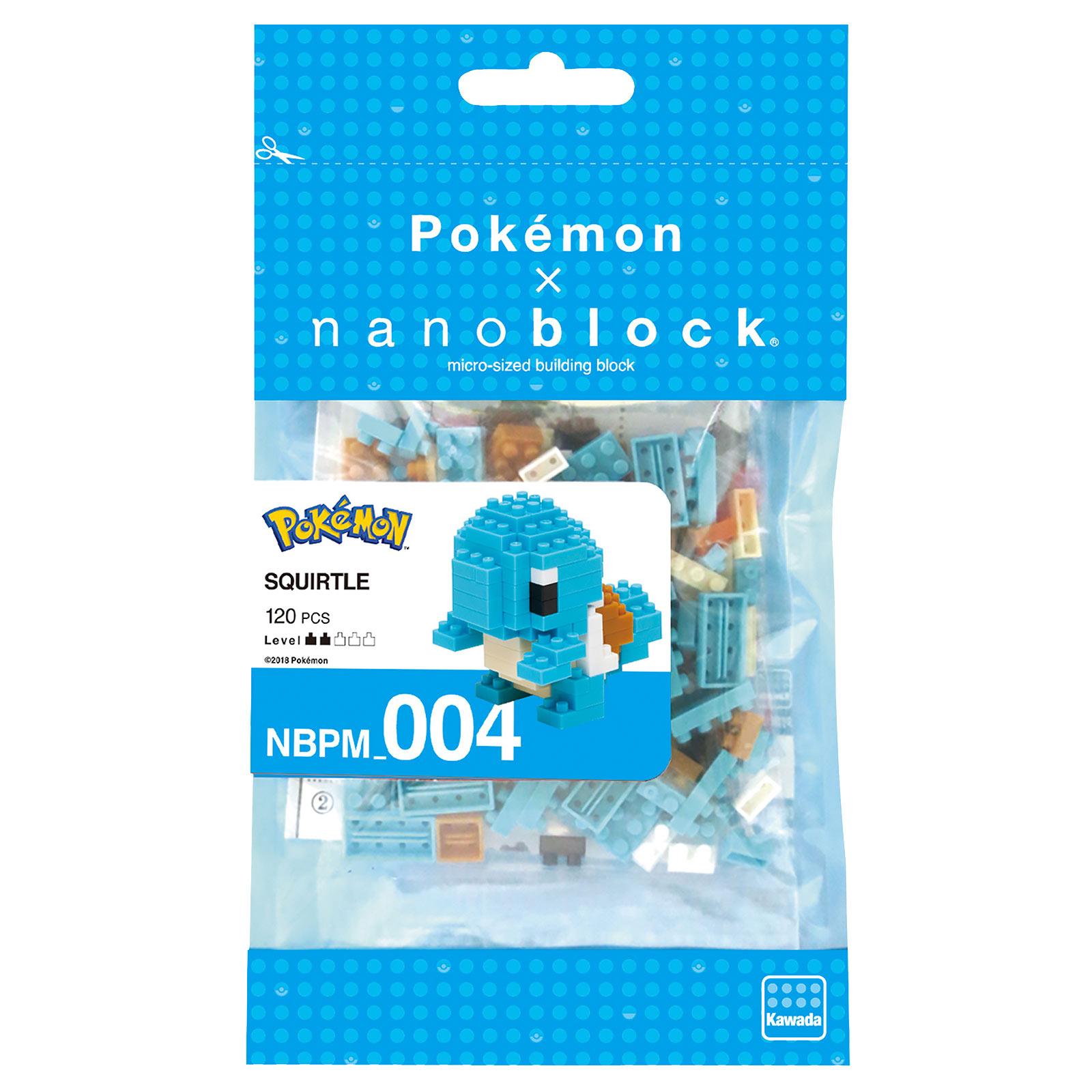Pokemon - Schiggy nanoblock Mini Baustein Figur