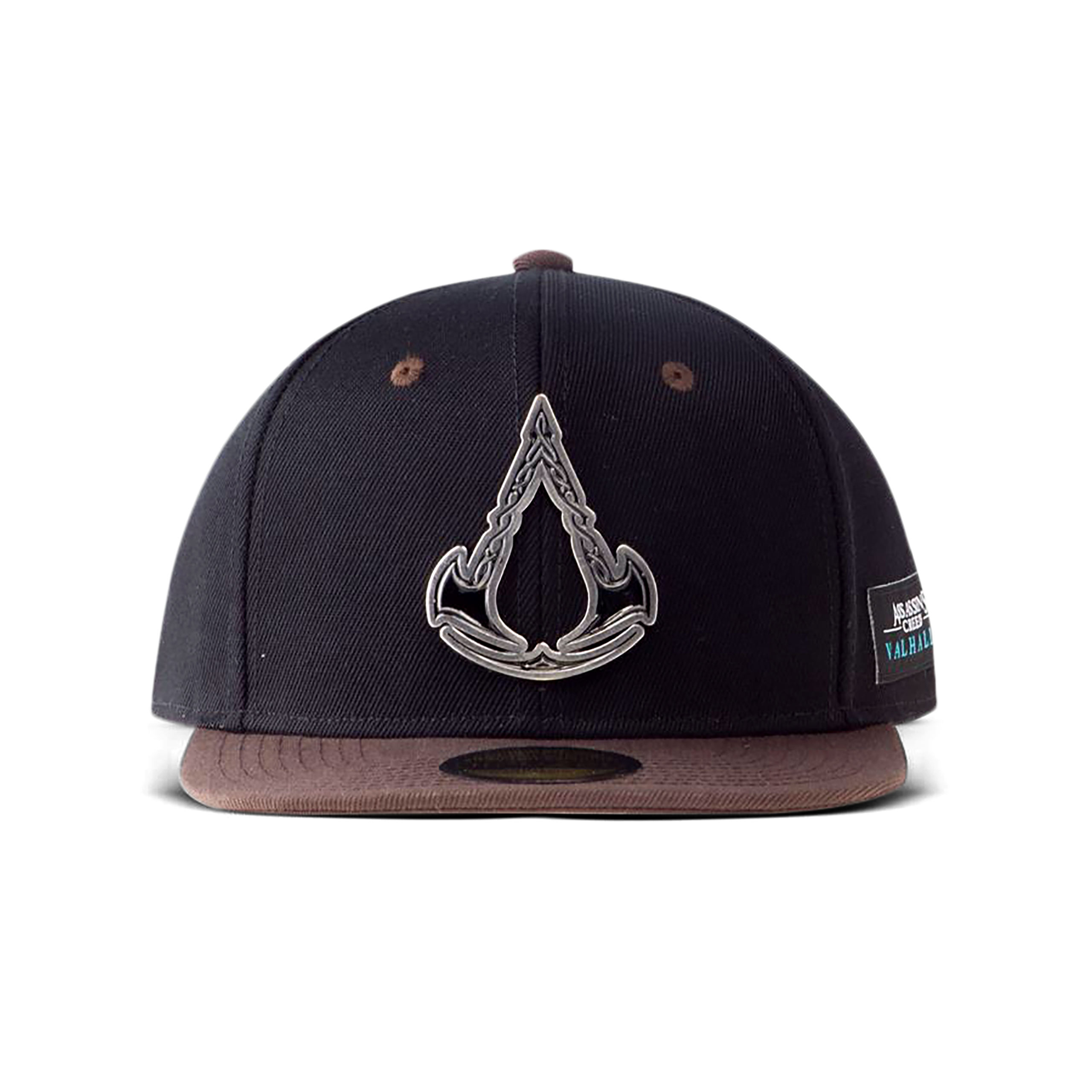 Assassin's Creed - Valhalla Metall Logo Snapback Cap