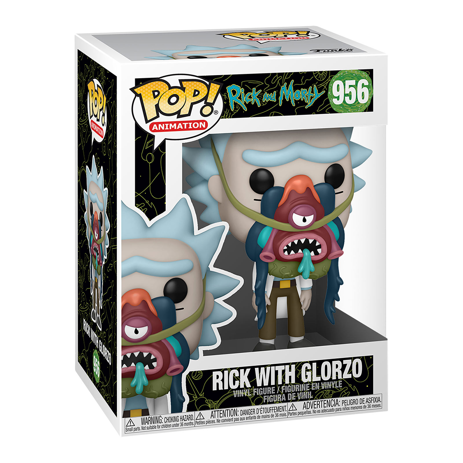 Rick and Morty - Rick mit Glorzo Funko Pop Figur