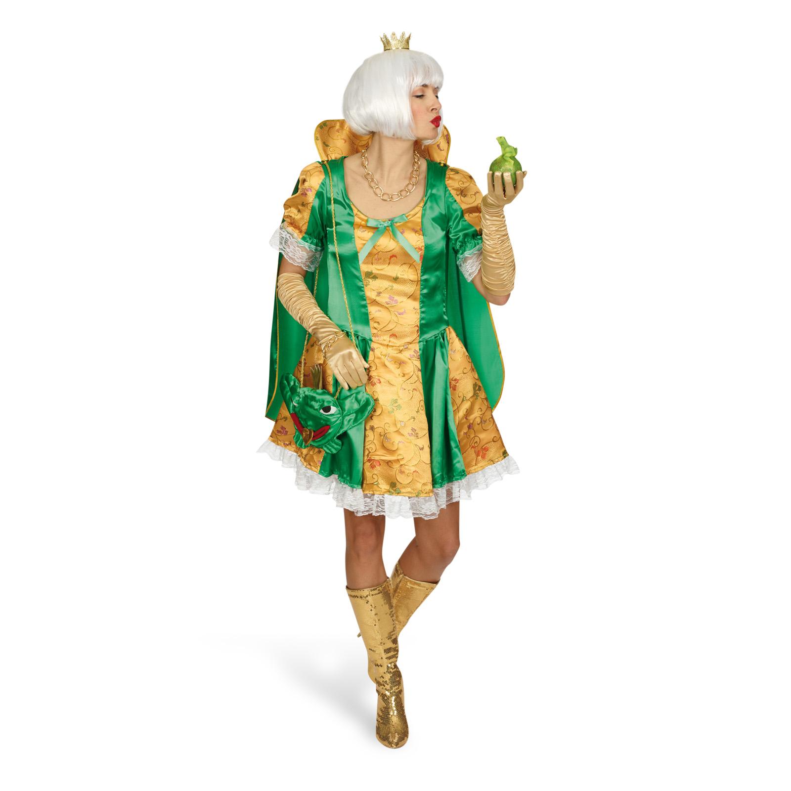 Froschkönigin Märchen Damenkostüm