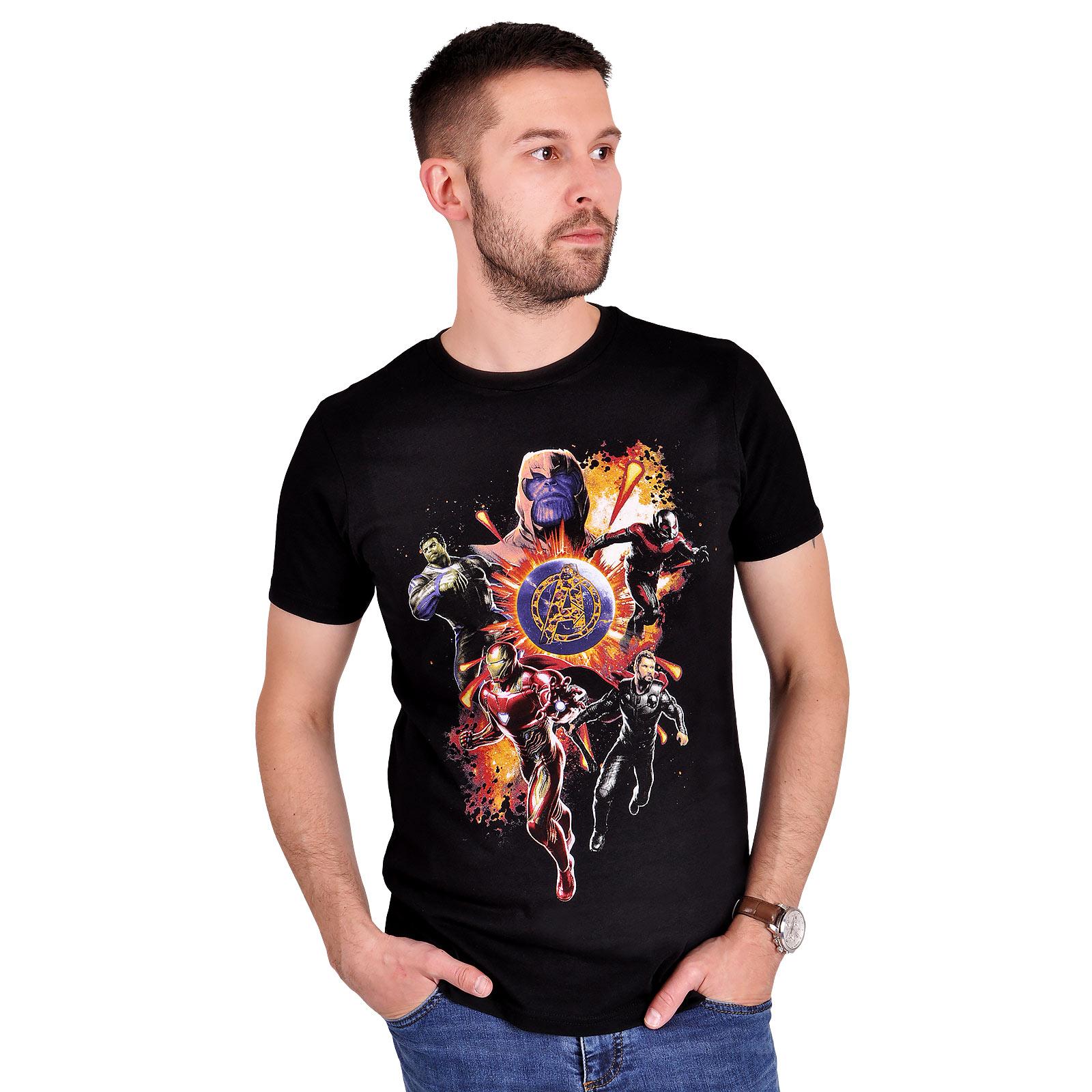 Avengers - Endgame Final Battle T-Shirt schwarz