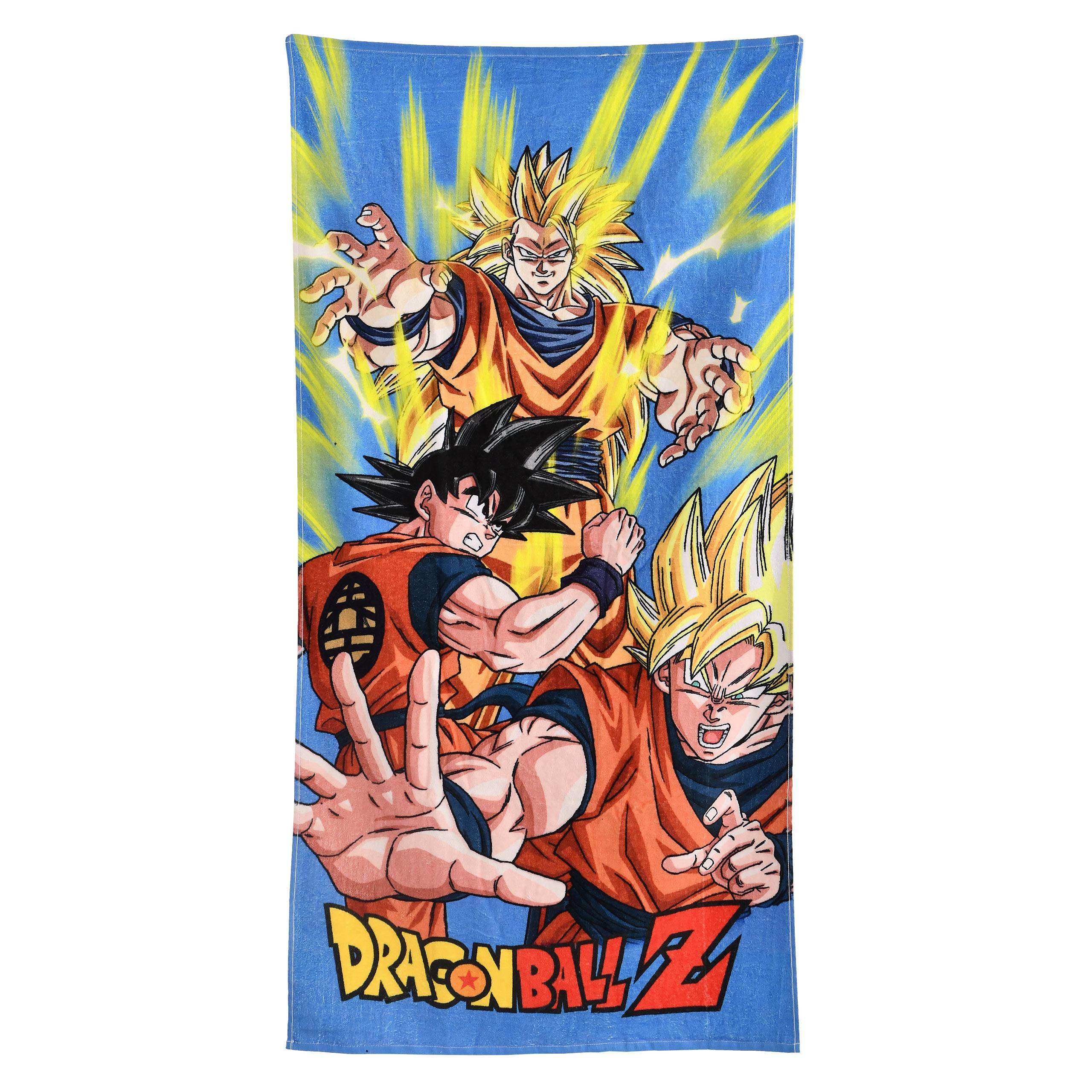 Dragon Ball Z - Goku Saiyajin Evolution Badetuch