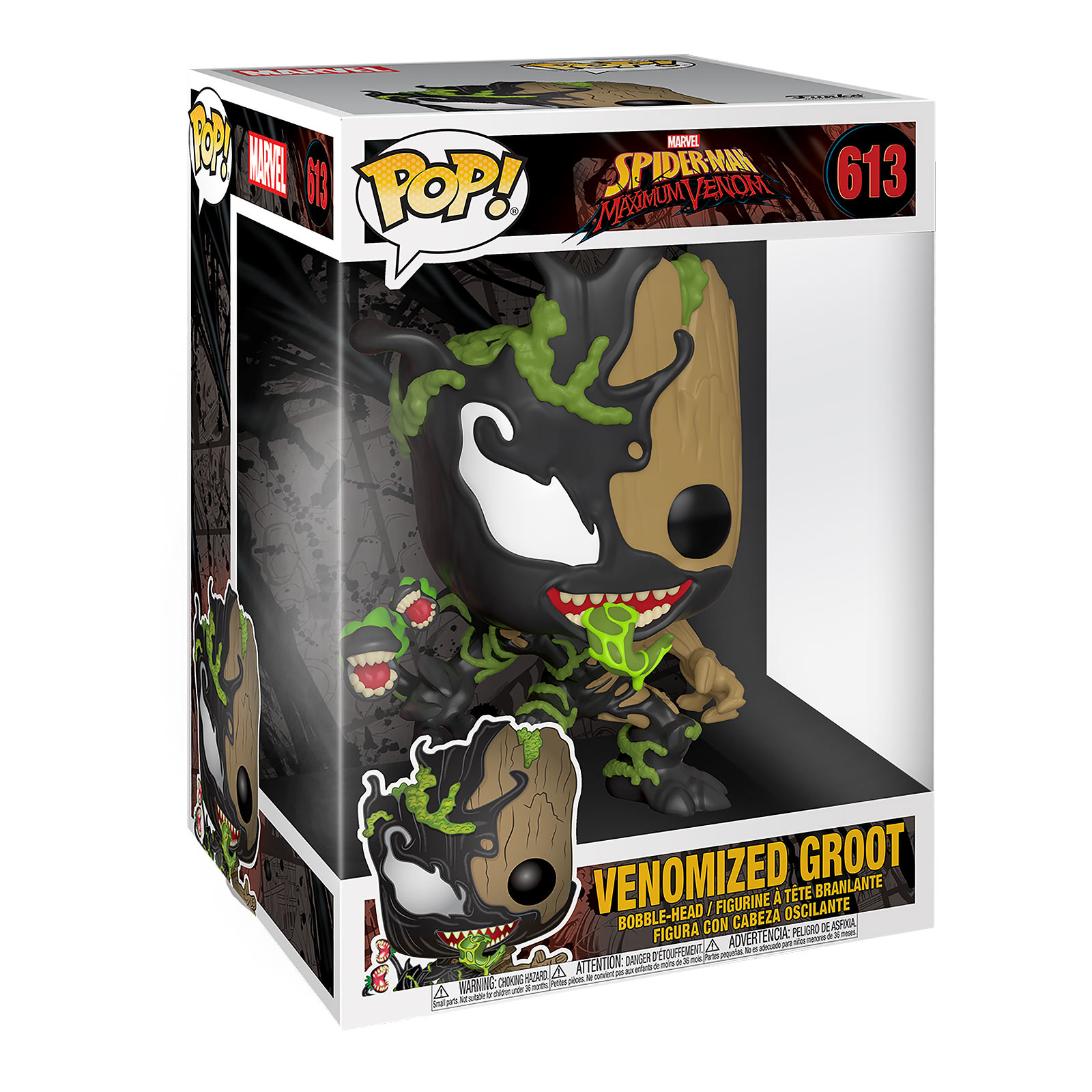 Marvel - Venomized Groot Funko Pop Wackelkopf-Figur 25 cm