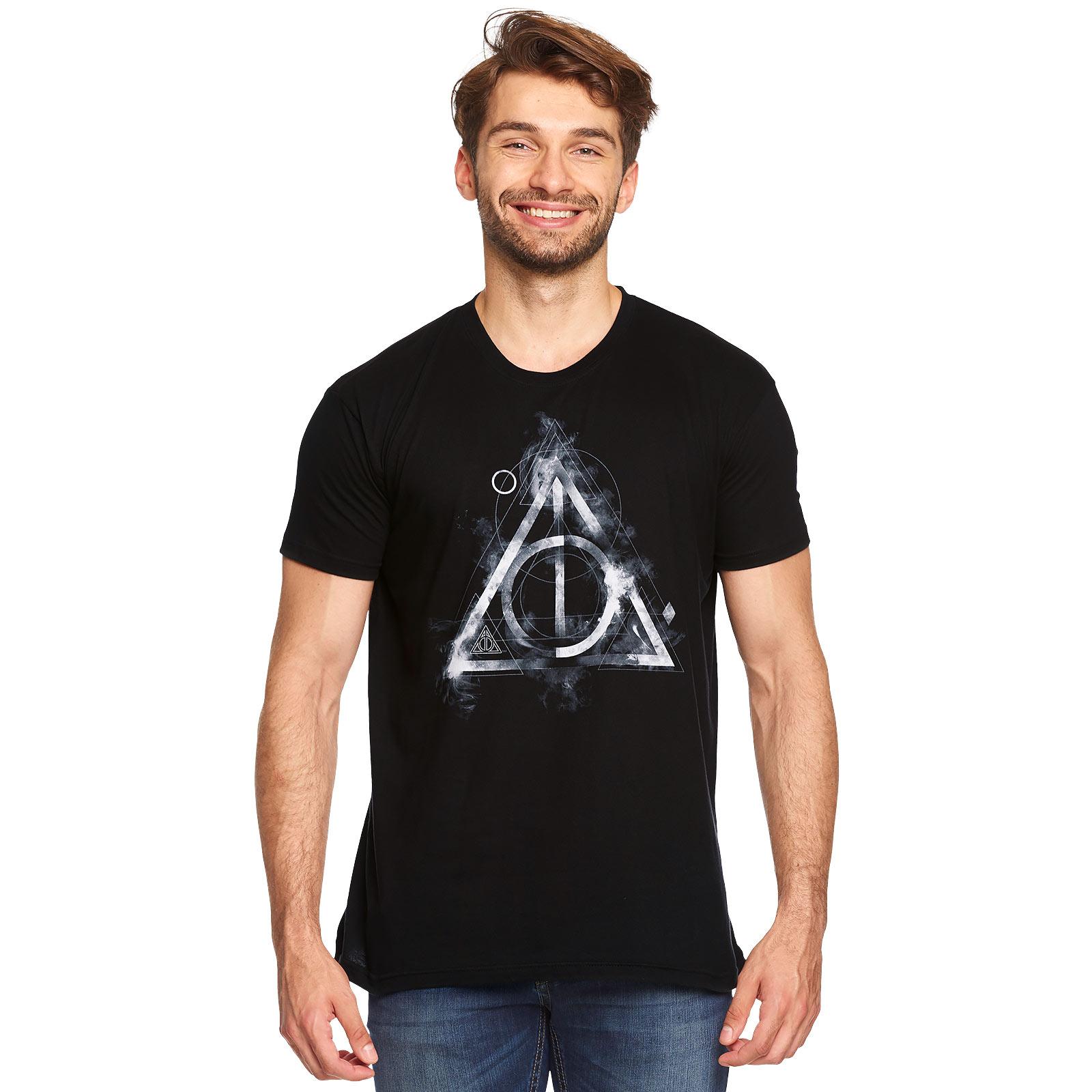 Harry Potter - Smoky Hallows T-Shirt schwarz