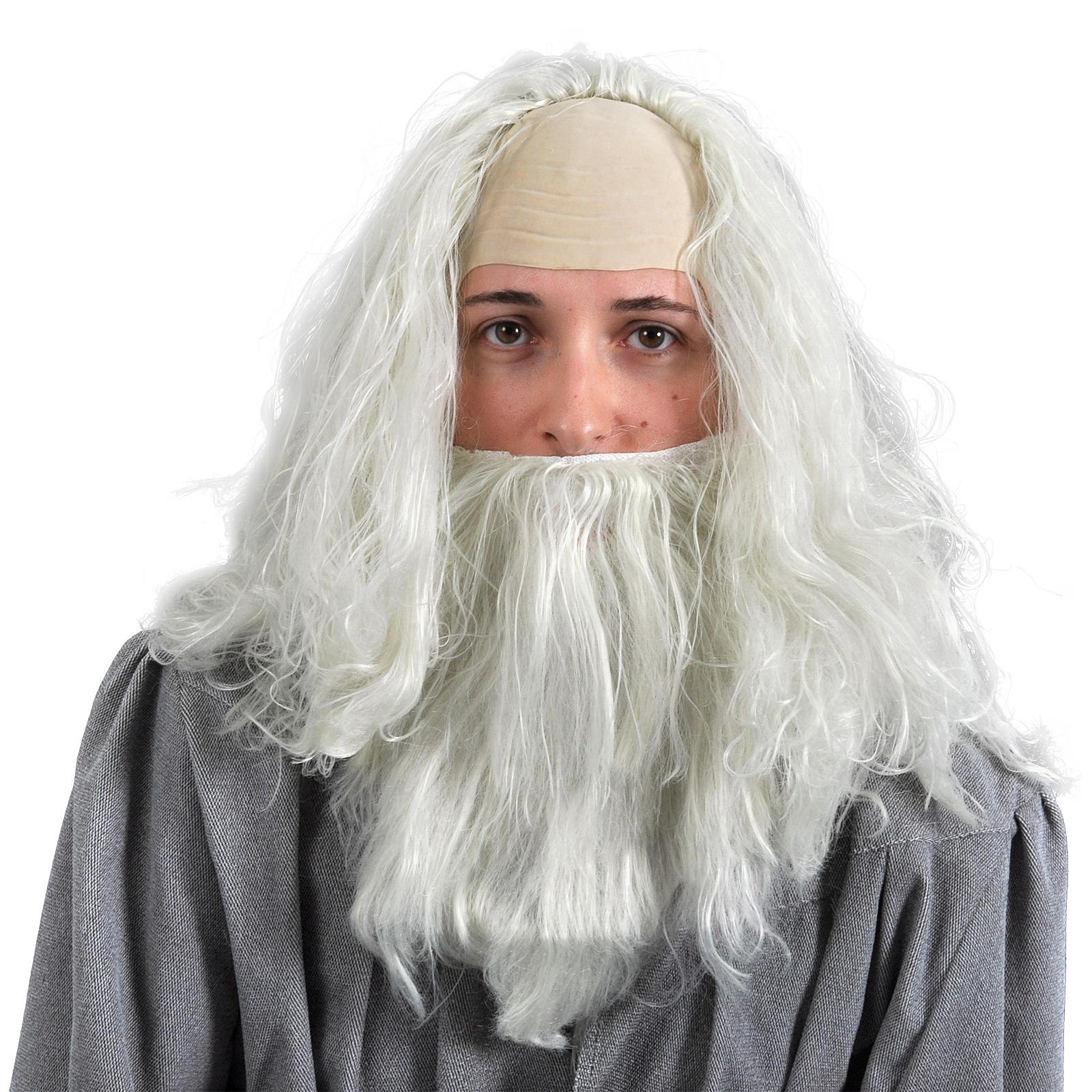 Gandalf Perücke mit Bart