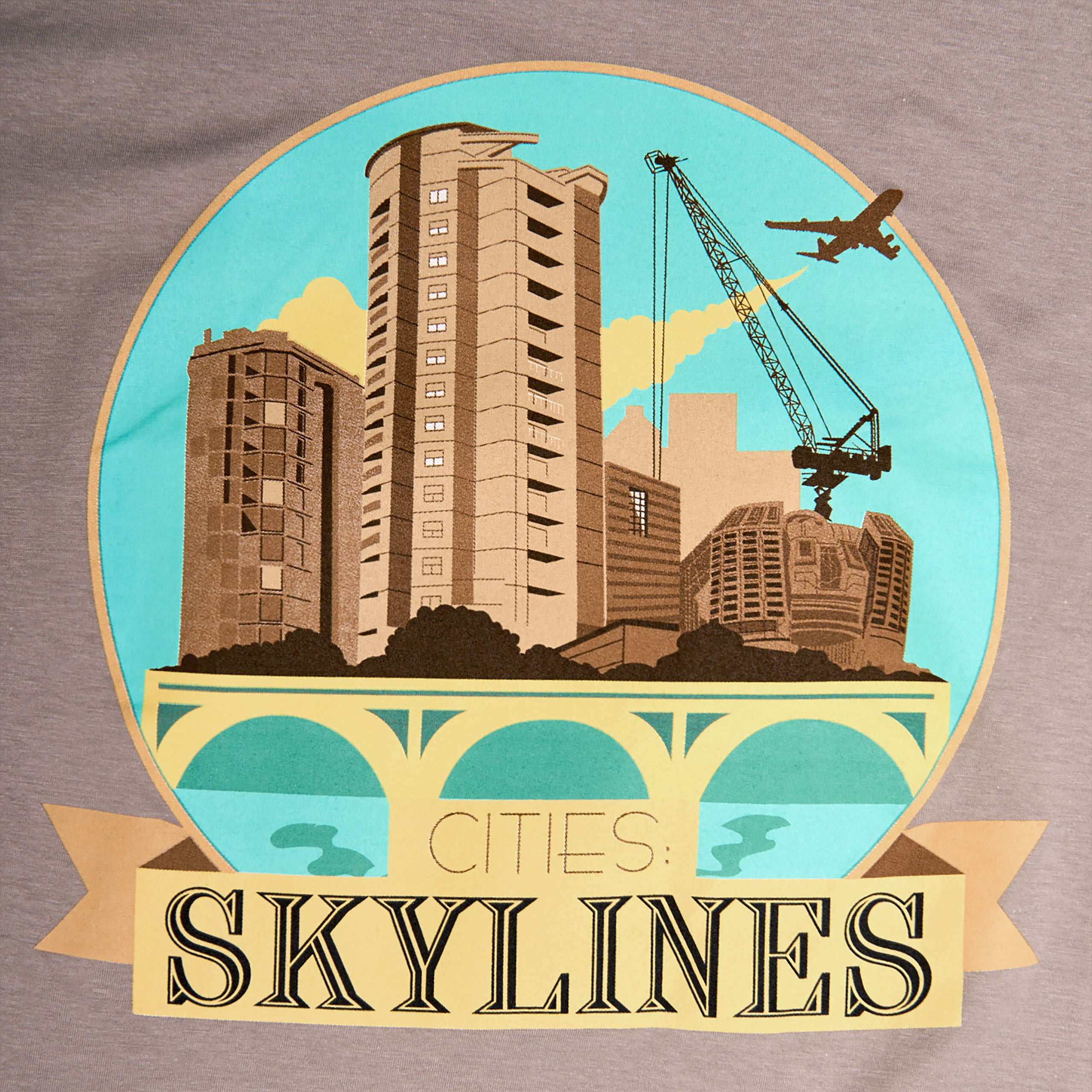Cities Skylines - New Cover T-Shirt