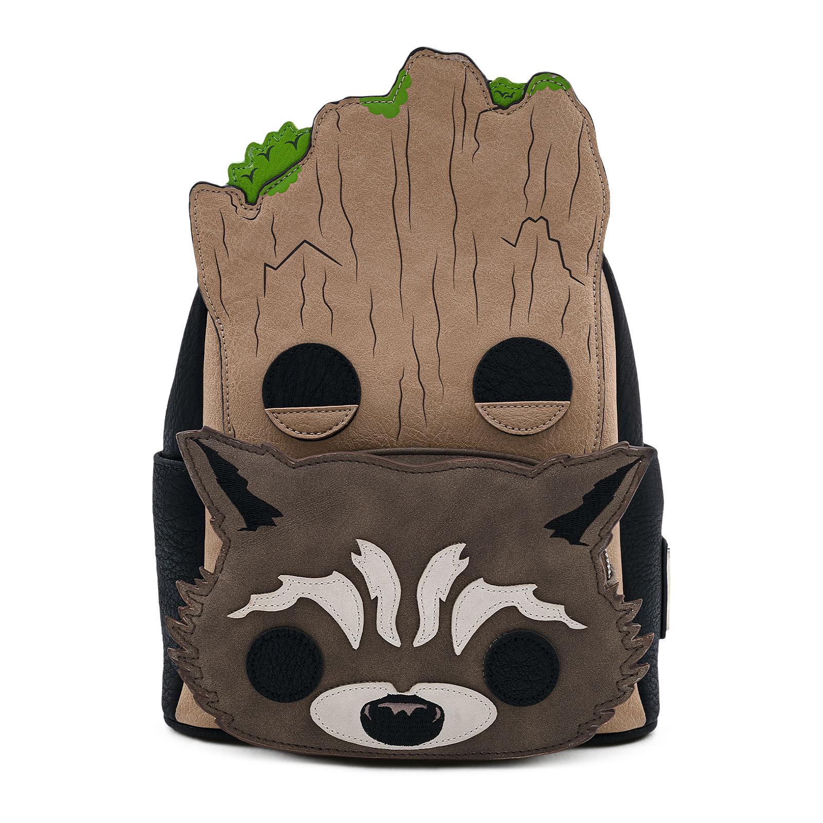 Guardians of the Galaxy - Groot und Rocket Mini Rucksack