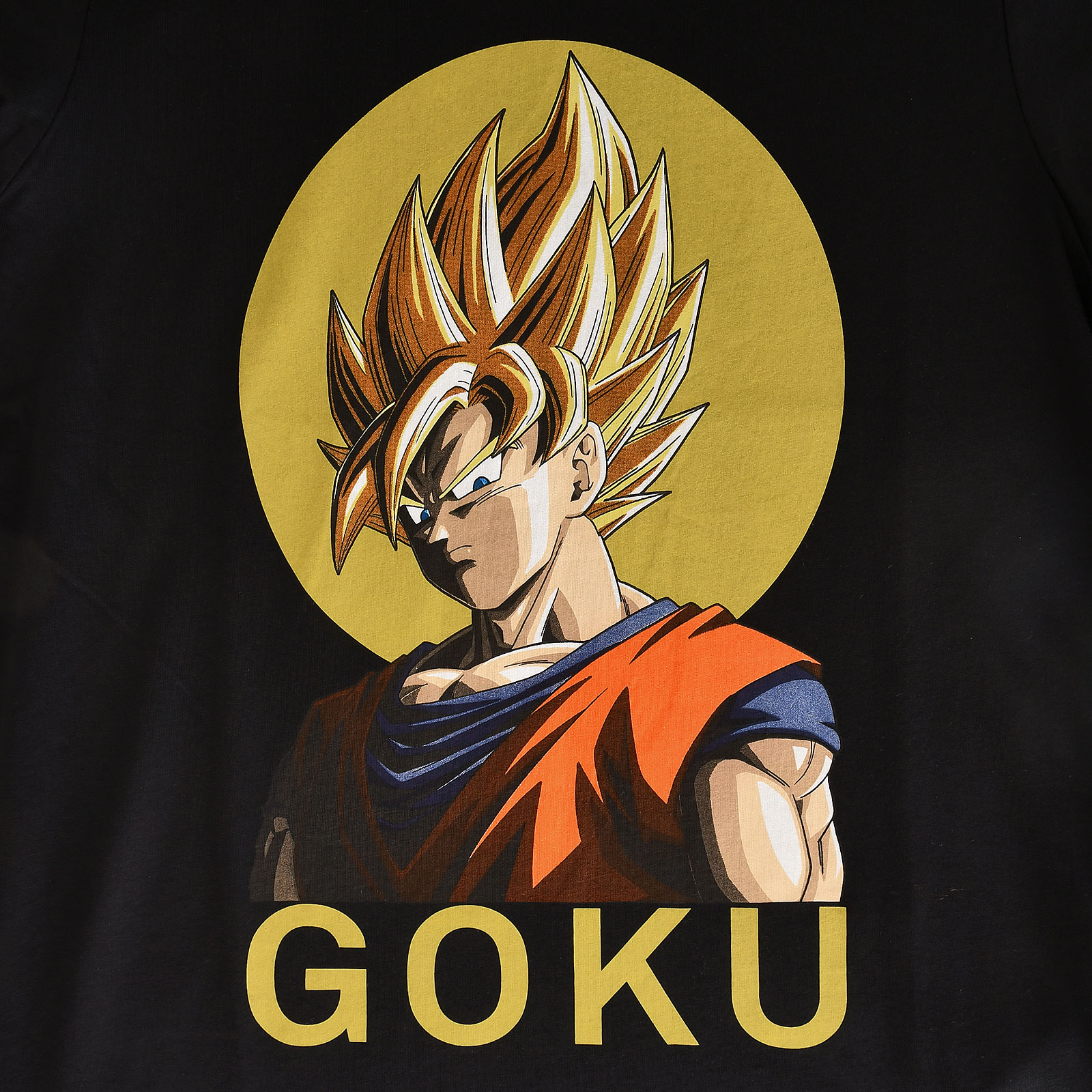 Dragon Ball - Super Saiyajin Goku T-Shirt schwarz