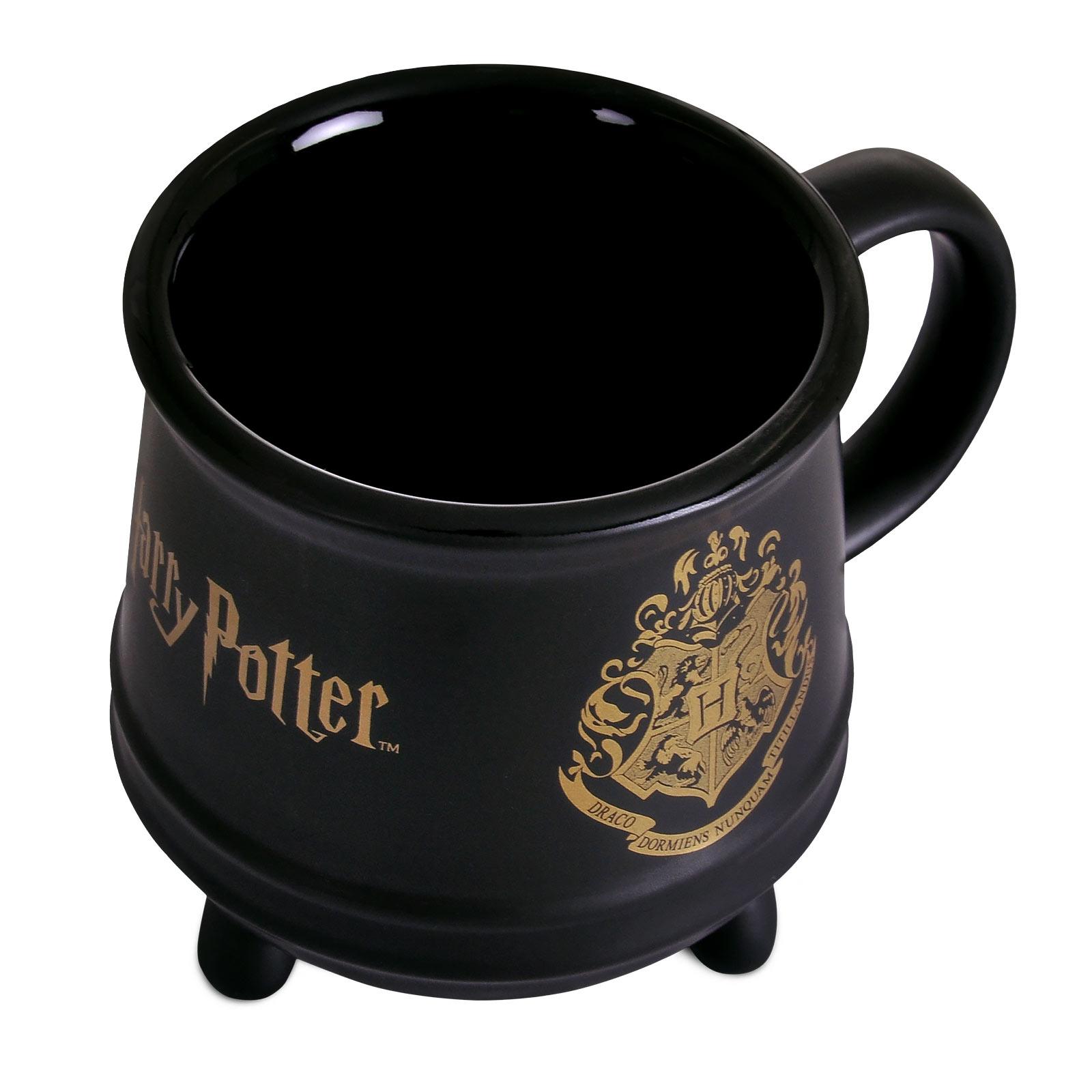 Harry Potter - Hogwarts Wappen Kessel Tasse