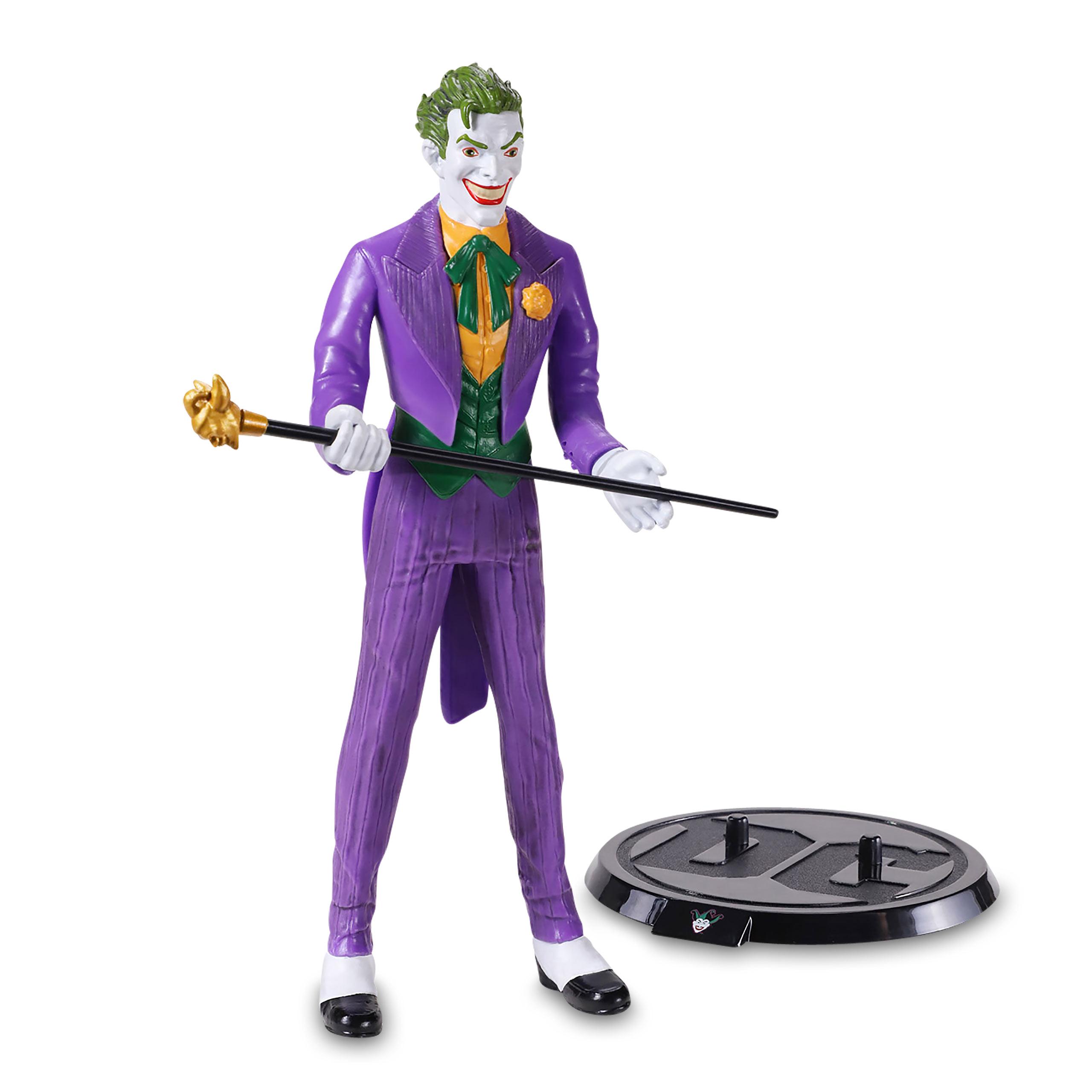 DC Comics - Joker Bendyfigs Figur 18,5 cm