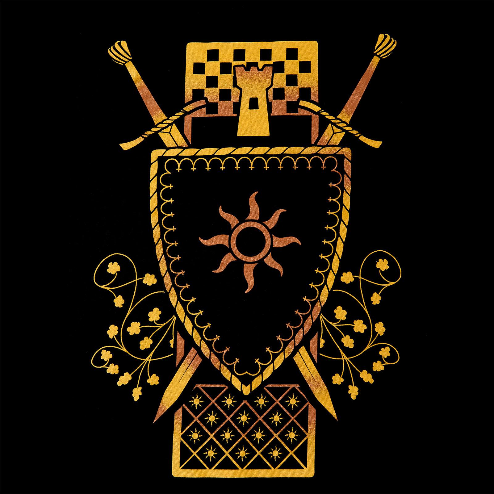 Witcher - Nilfgaard Wappen T-Shirt schwarz